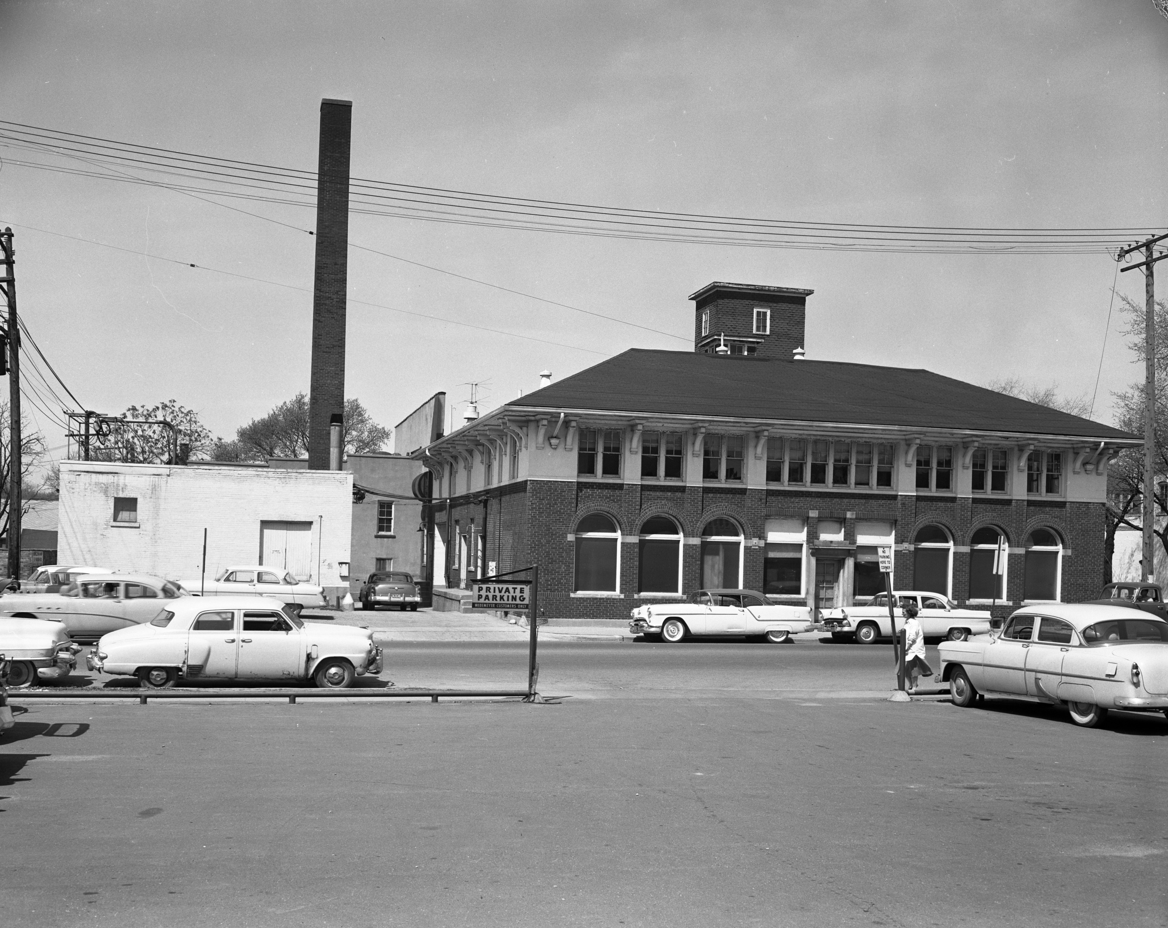Ann Arbor Dairy, Catherine and N. 4th Ave., May 1957 image