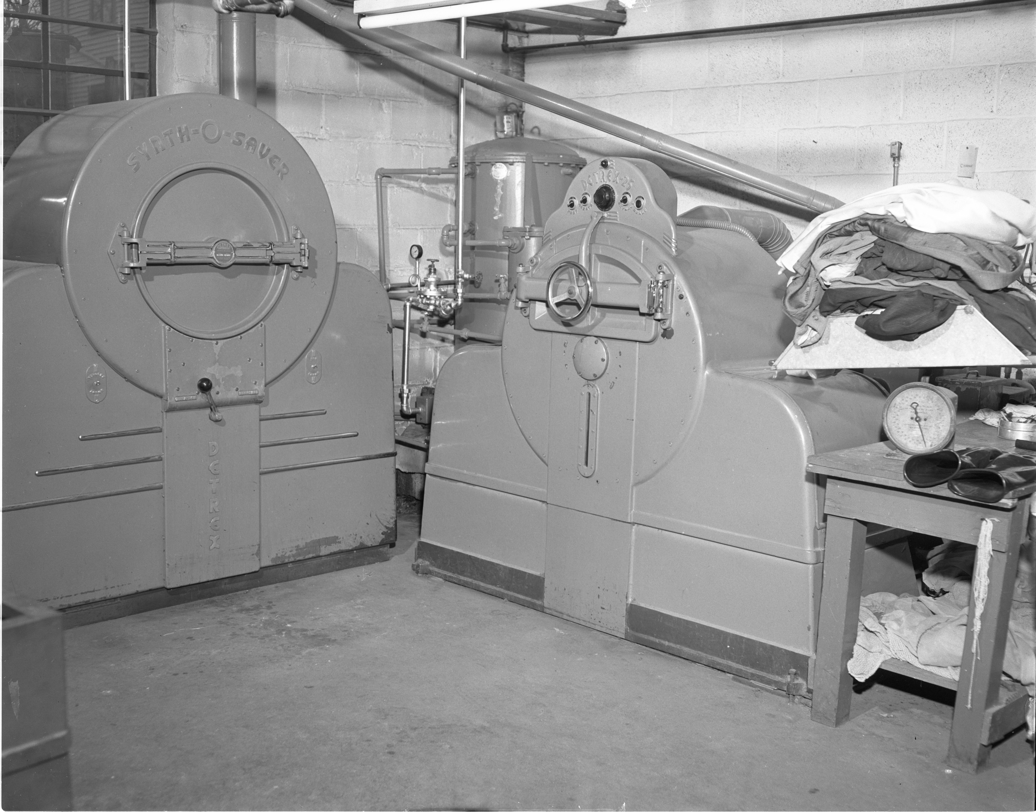 Armen Cleaners Dry Cleaning Department March 1949 Ann Arbor District Library