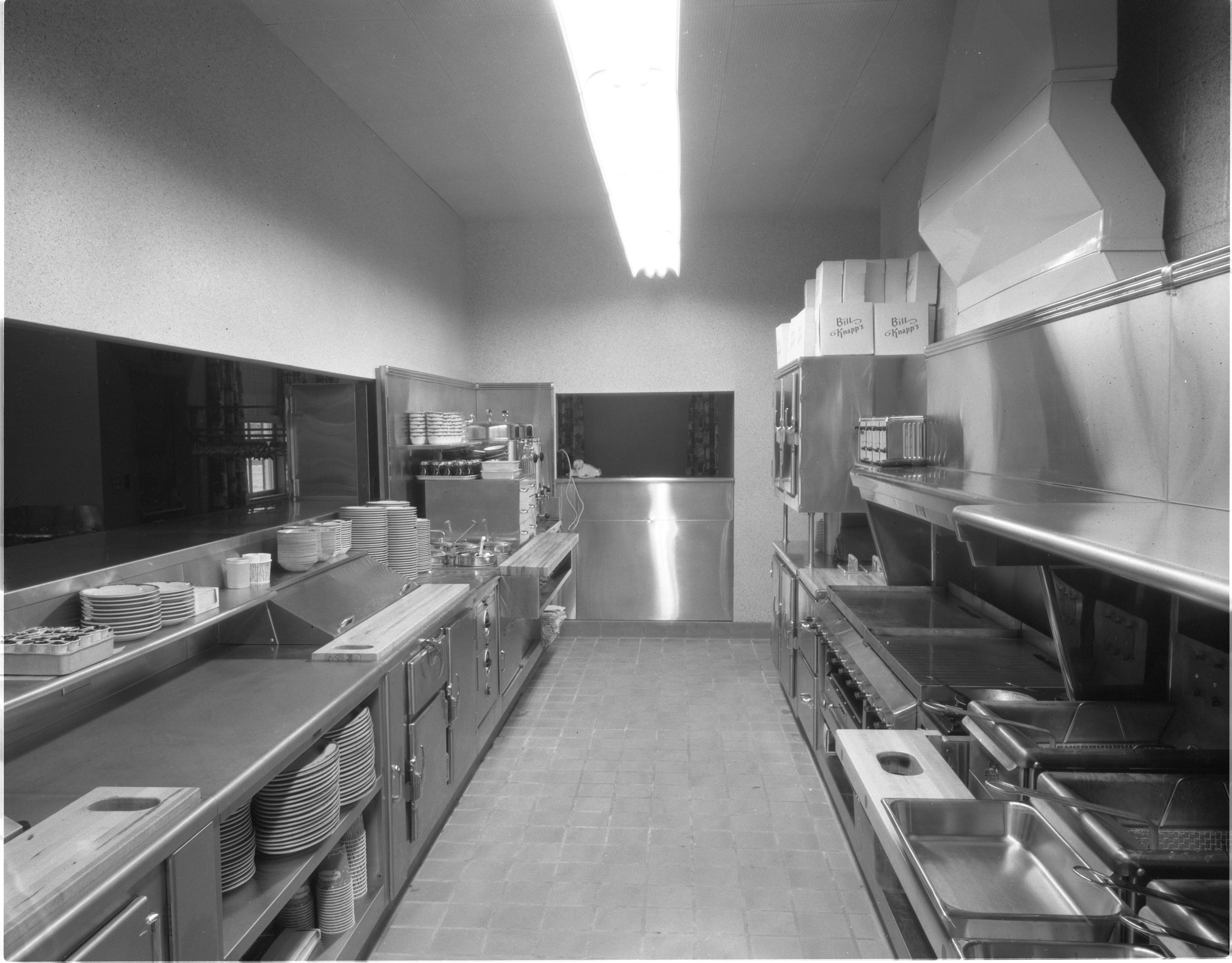 Kitchen Of Bill Knappu0027s Restaurant   2501 Jackson Rd, November 1958
