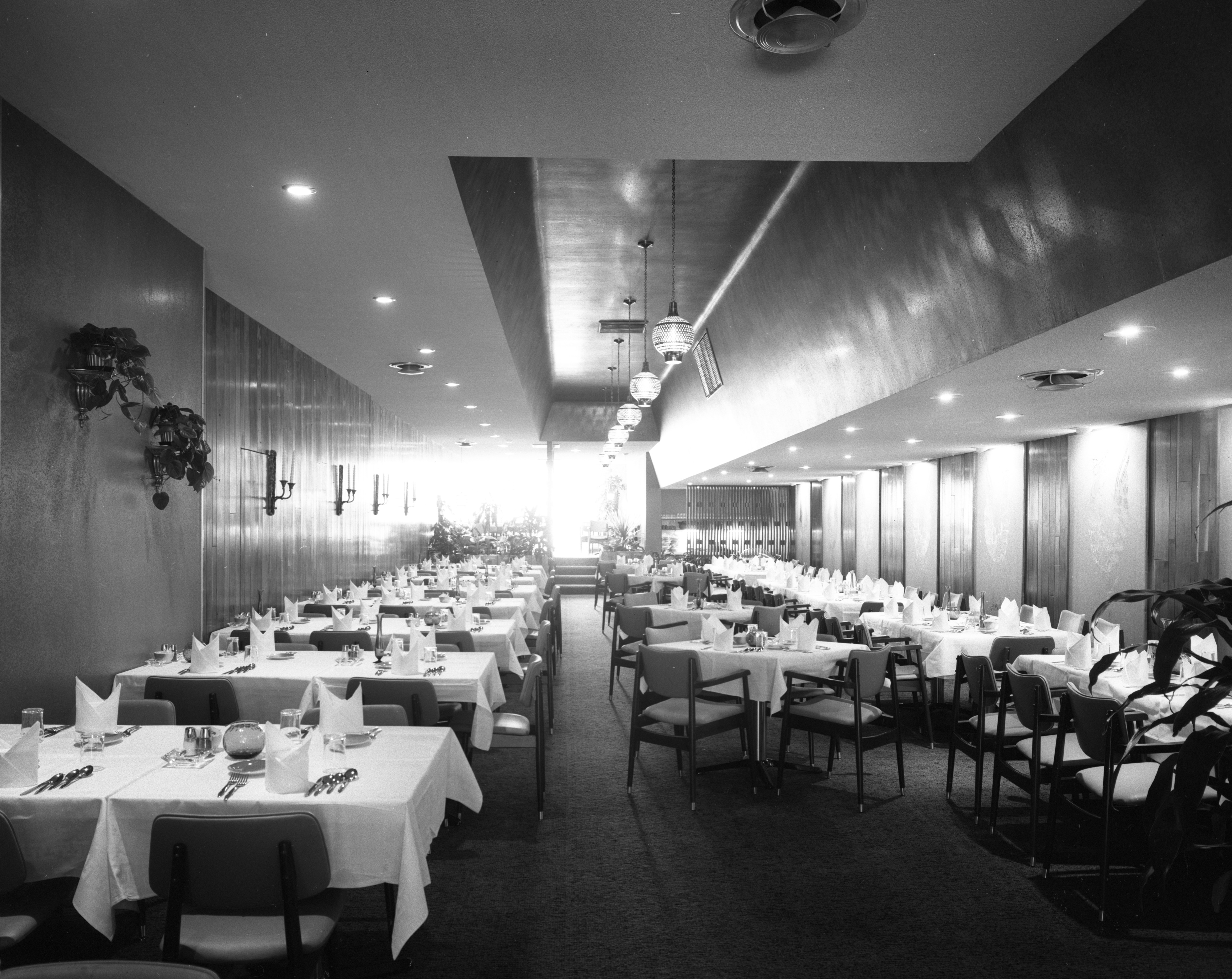 The Rubaiyat Continental Dining Room, October 6, 1960 image