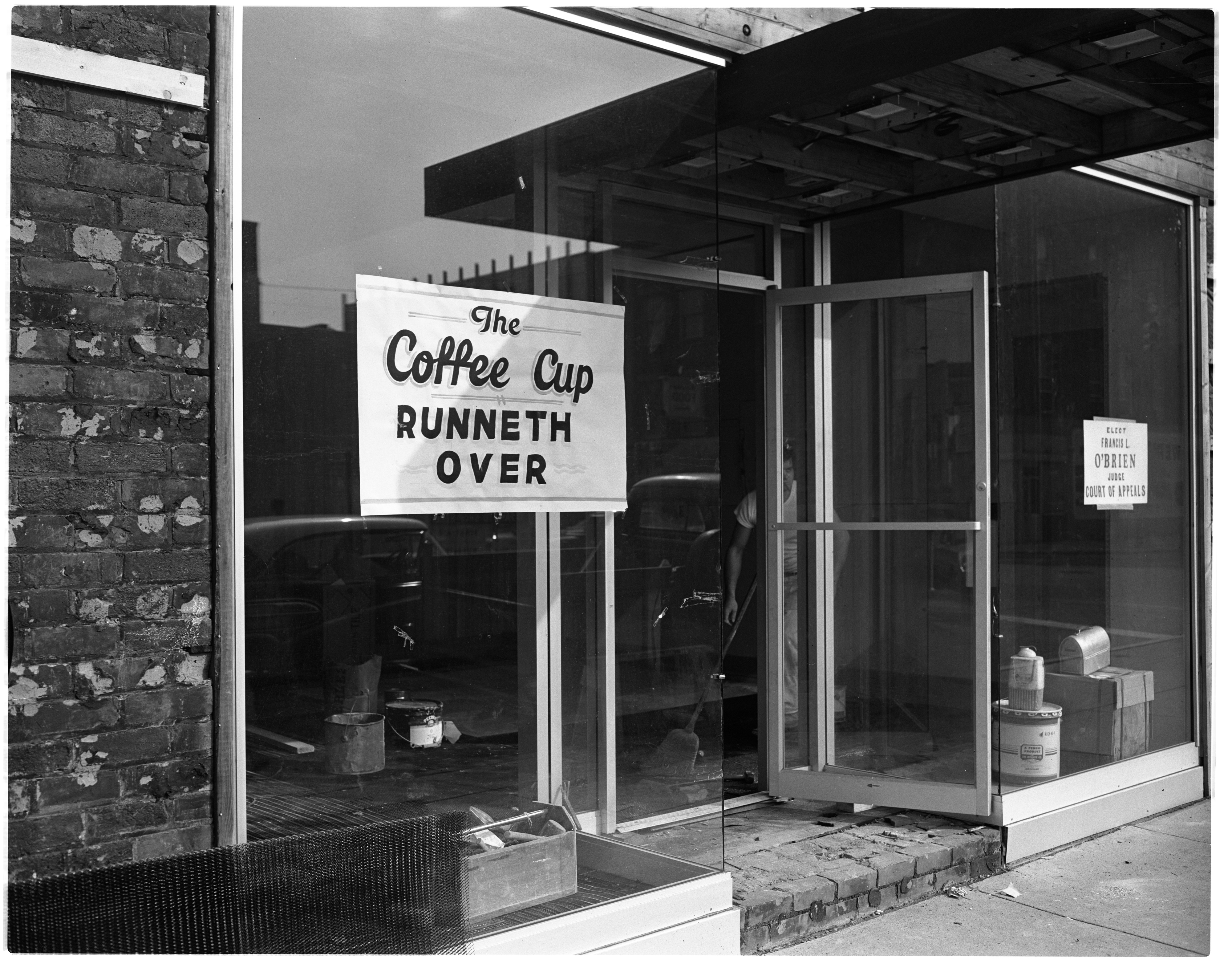 Mallis Coffee Cup Expansion, September 1964 image