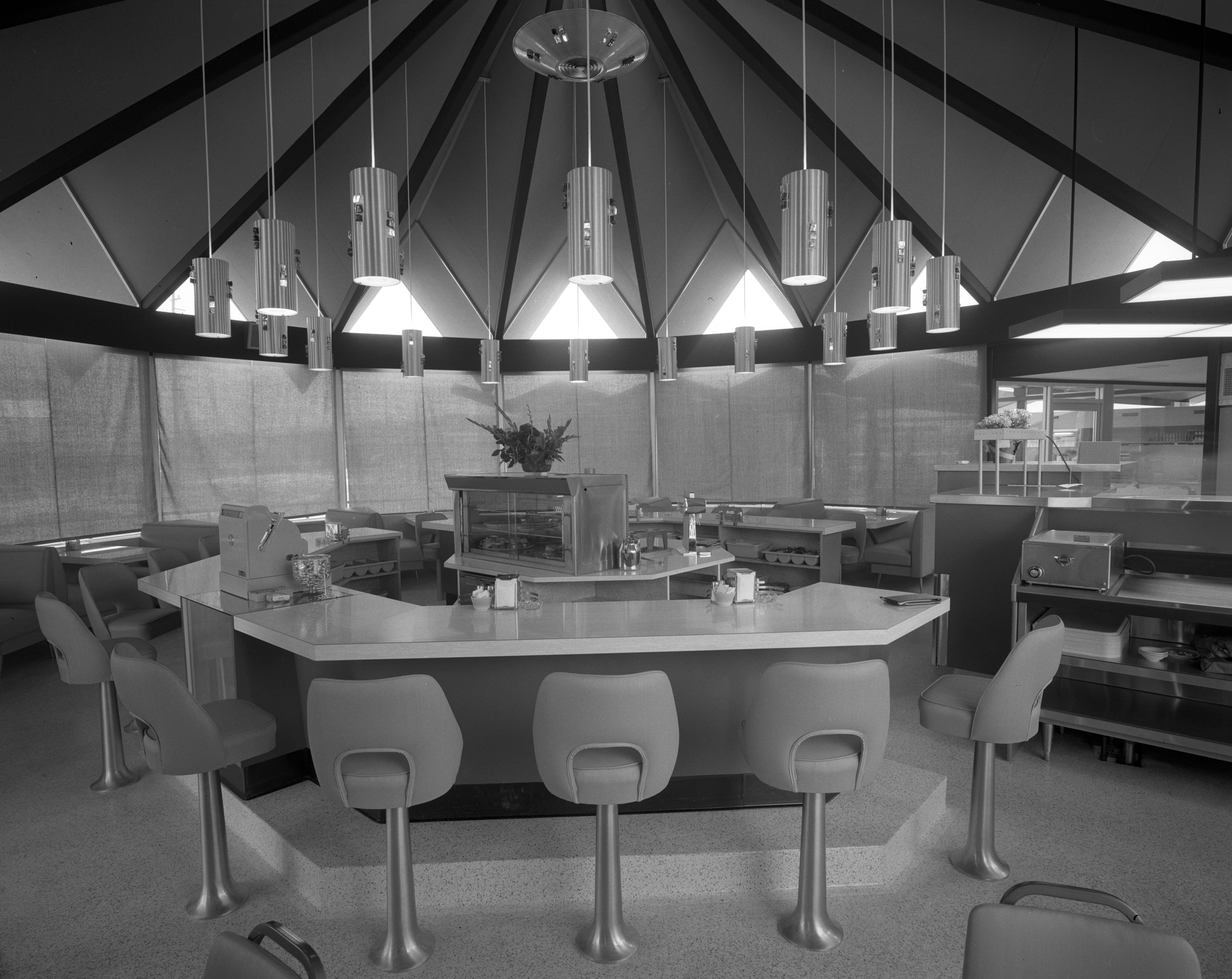 New Bolgos Restaurant At 3535 Plymouth Rd April 1965