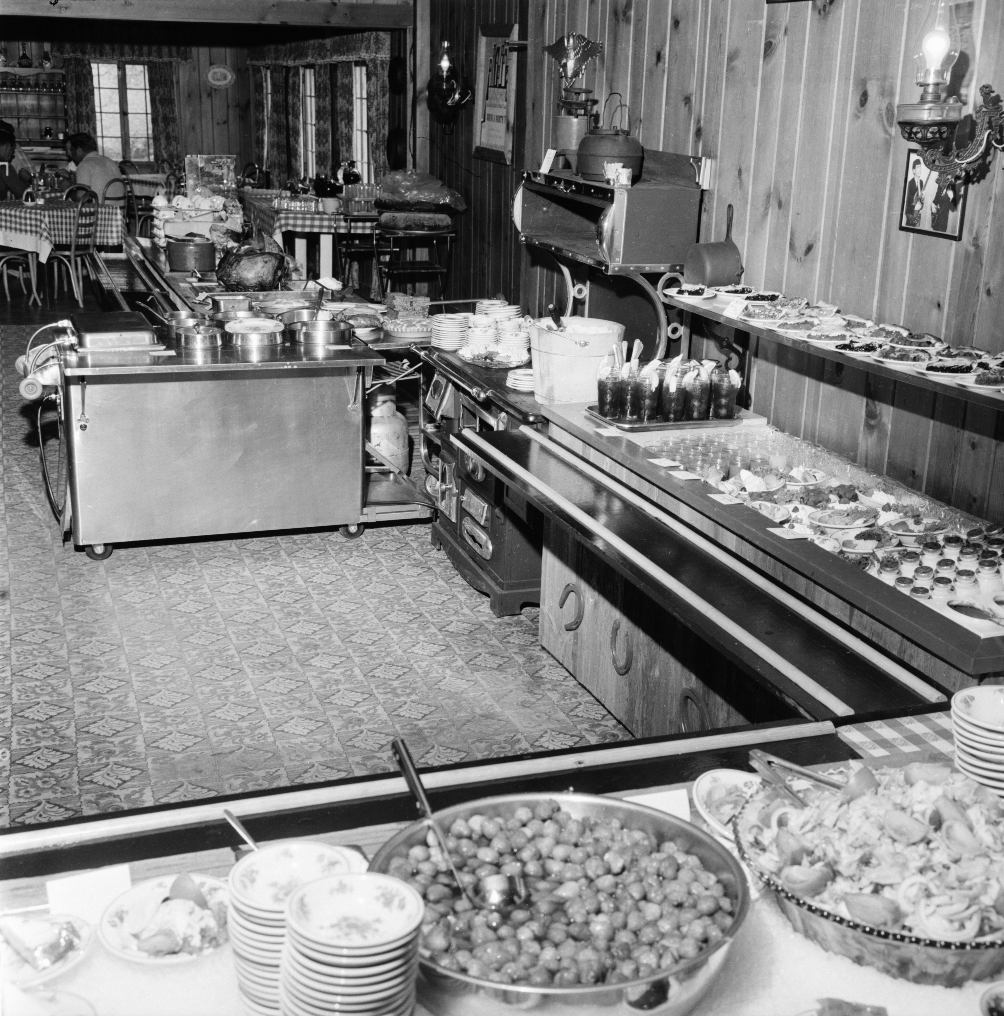 Cafeteria Luncheon at The Lord Fox, May 1966 image