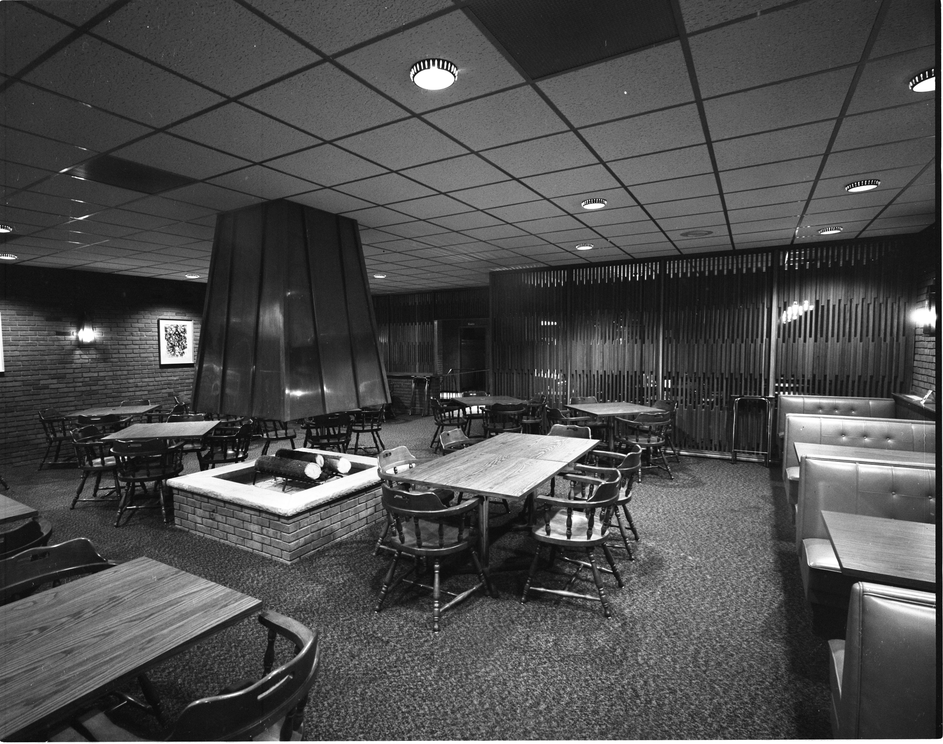 Fireside Lounge - Interior, October 1966 image