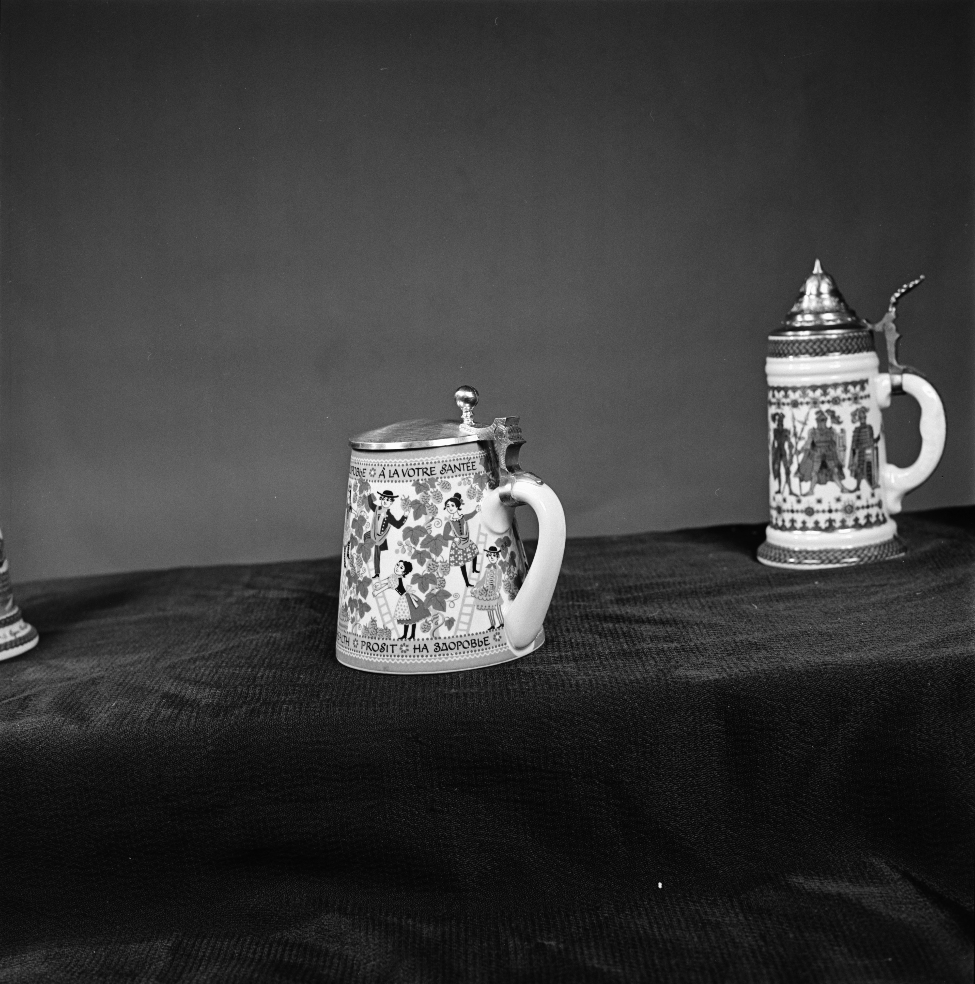 Beer Steins, from the Old German Restaurant, December 1969 image
