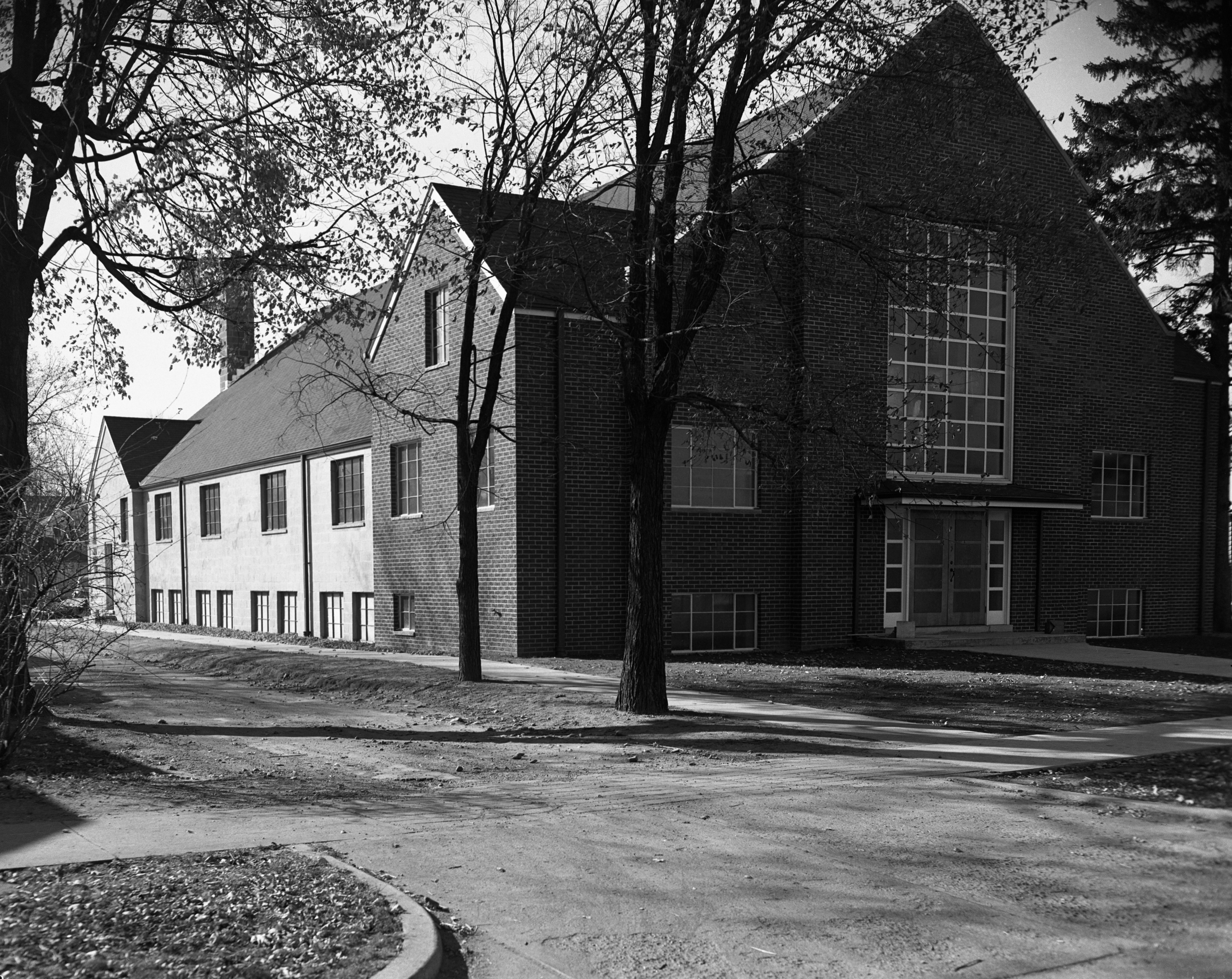 New Baptist Church, Forest Ave, October 1952 image