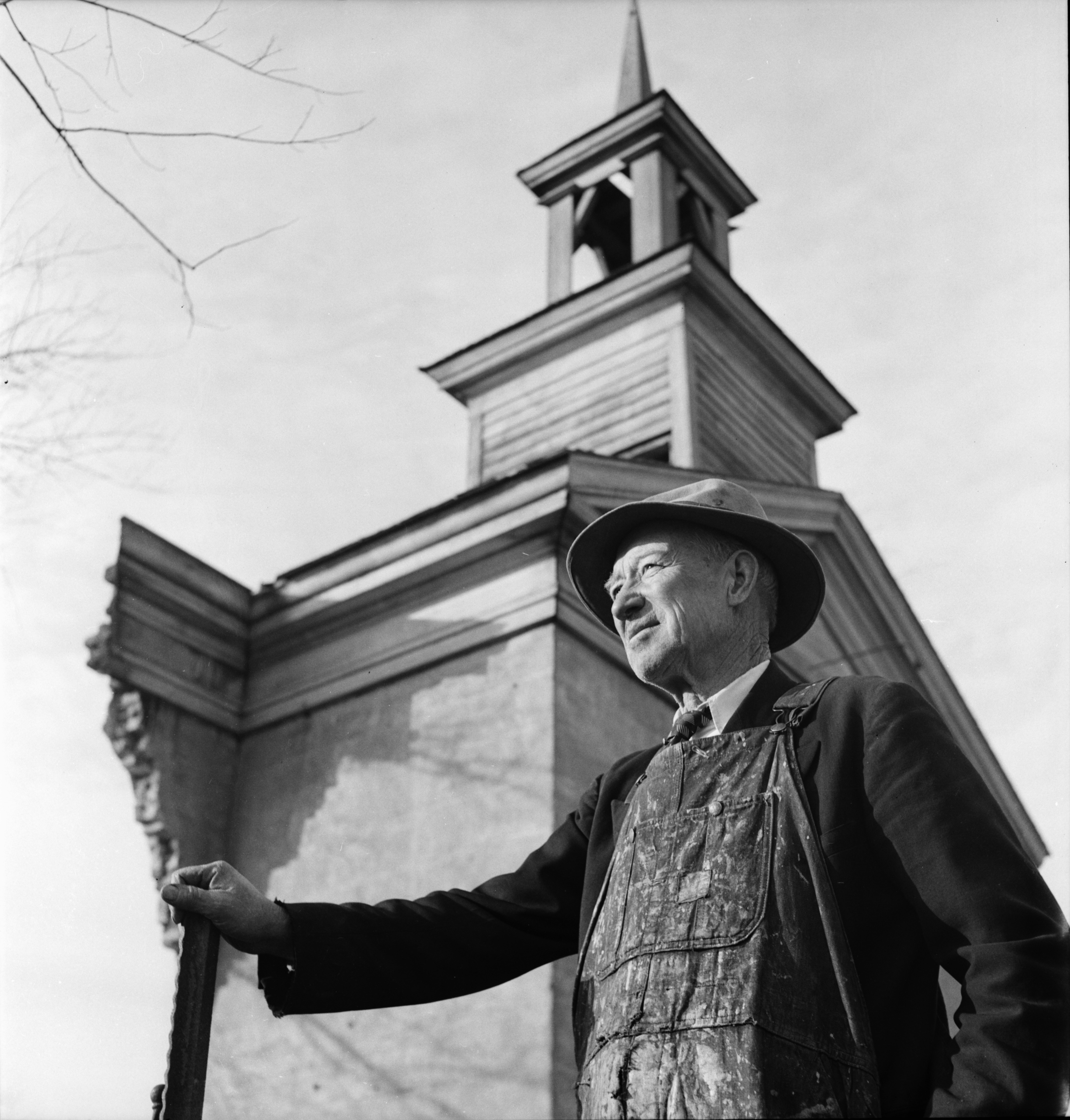 Rev. Morse, Church Builder, November 1952 image