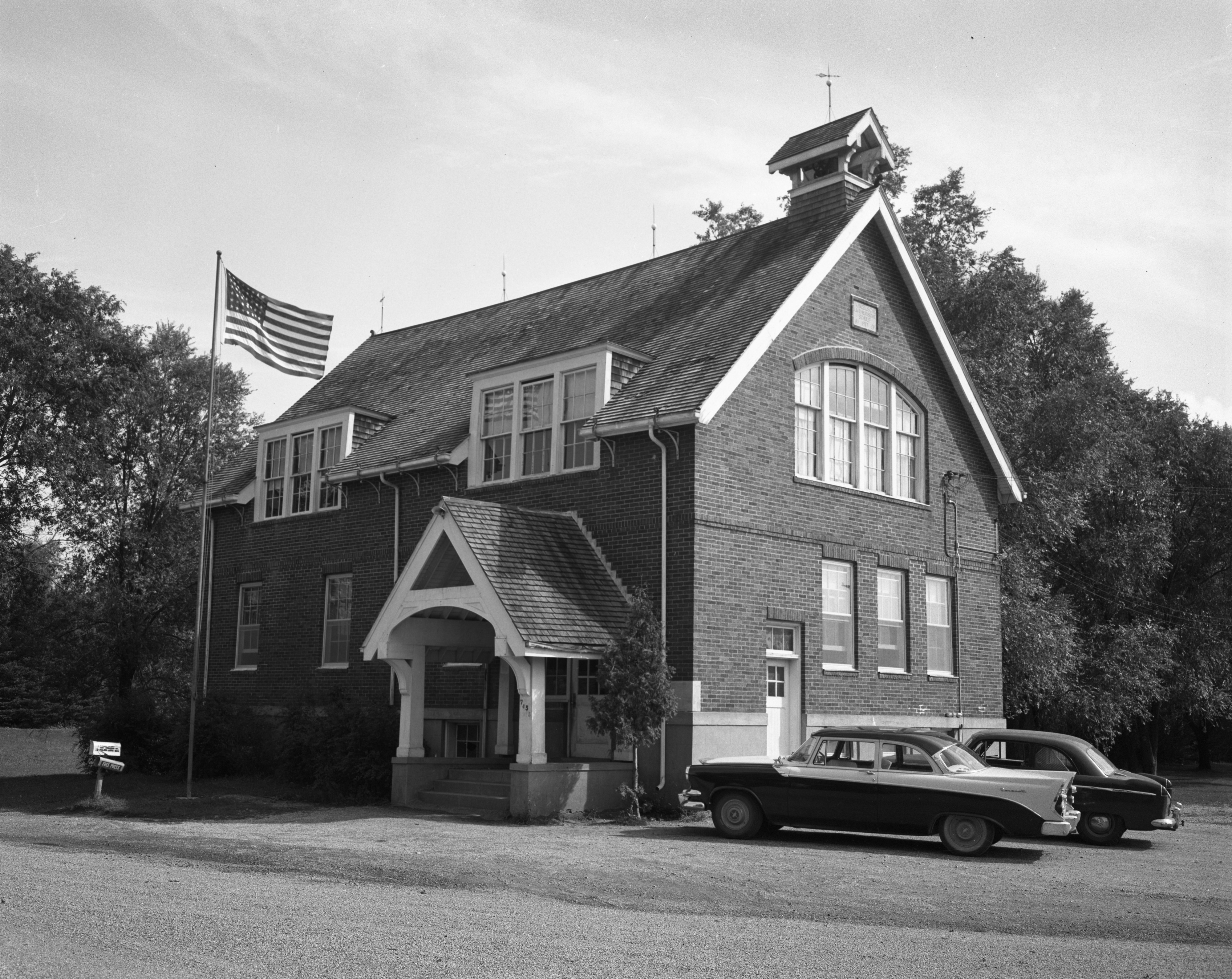 Salem Evangelical Lutheran Church, Scio Township, September 1958 image