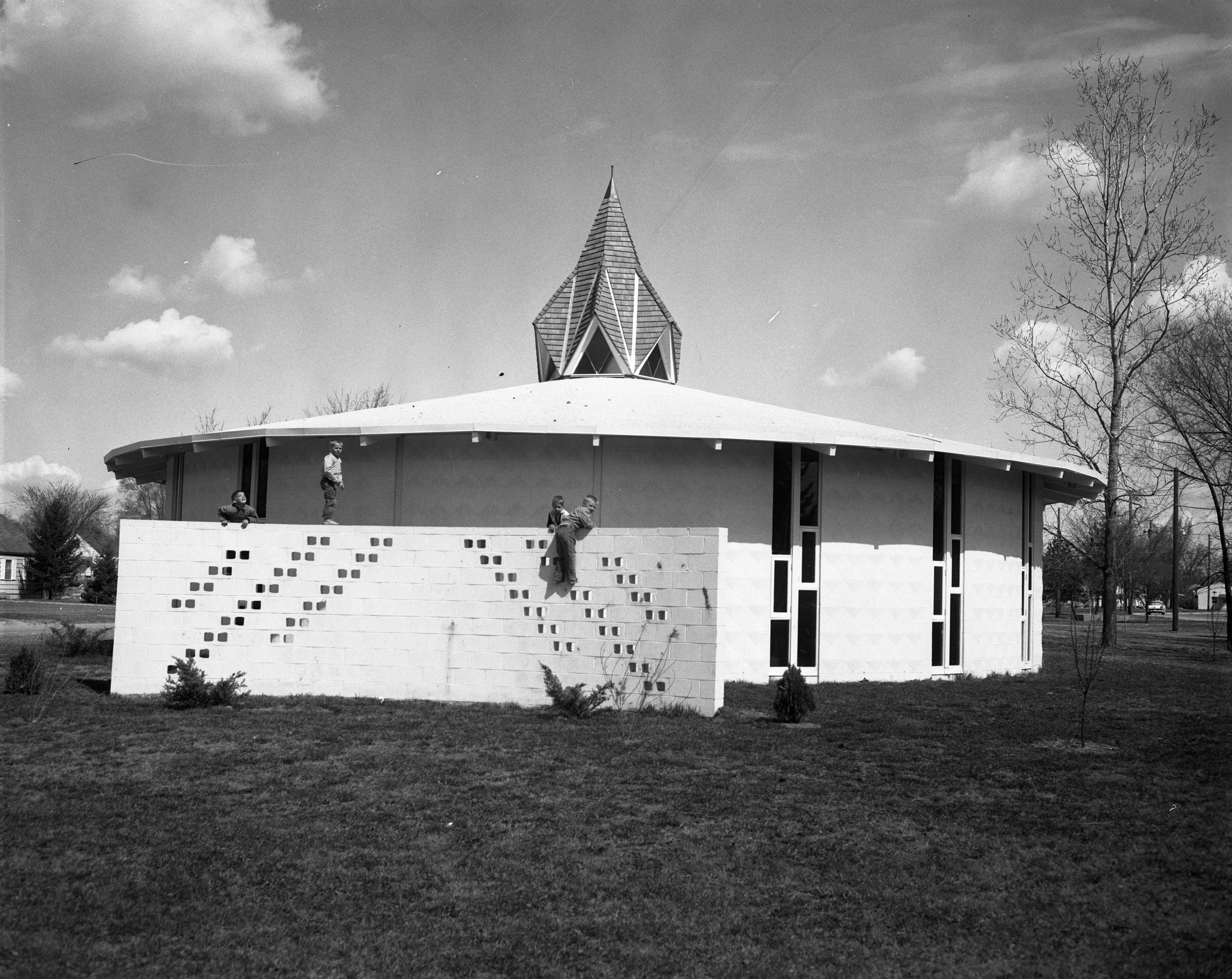 Calvary Presbyterian Church, April 1962 image
