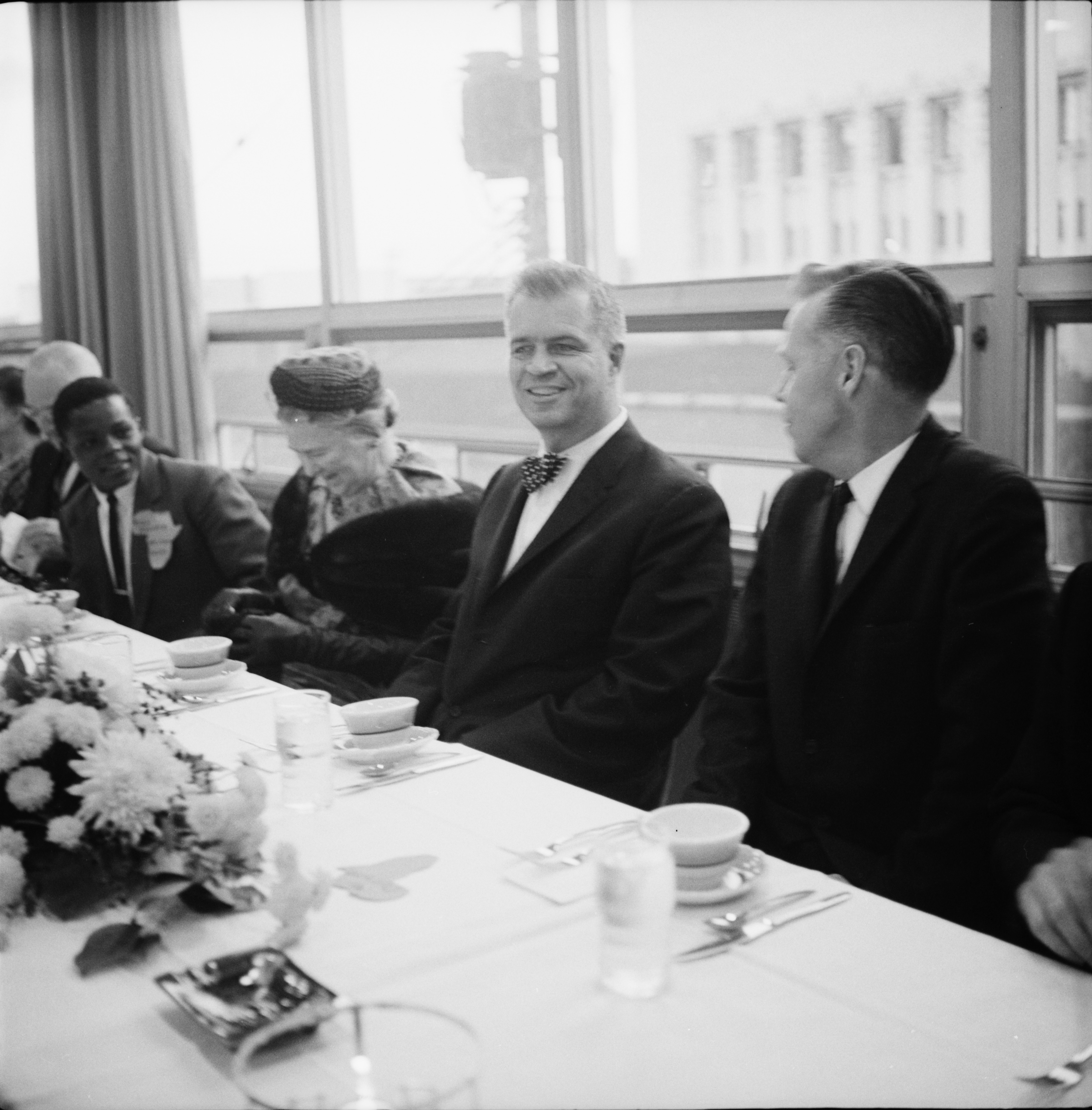 G. Mennen Williams at Protestant Foundation For International Students Dinner, October 1962 image