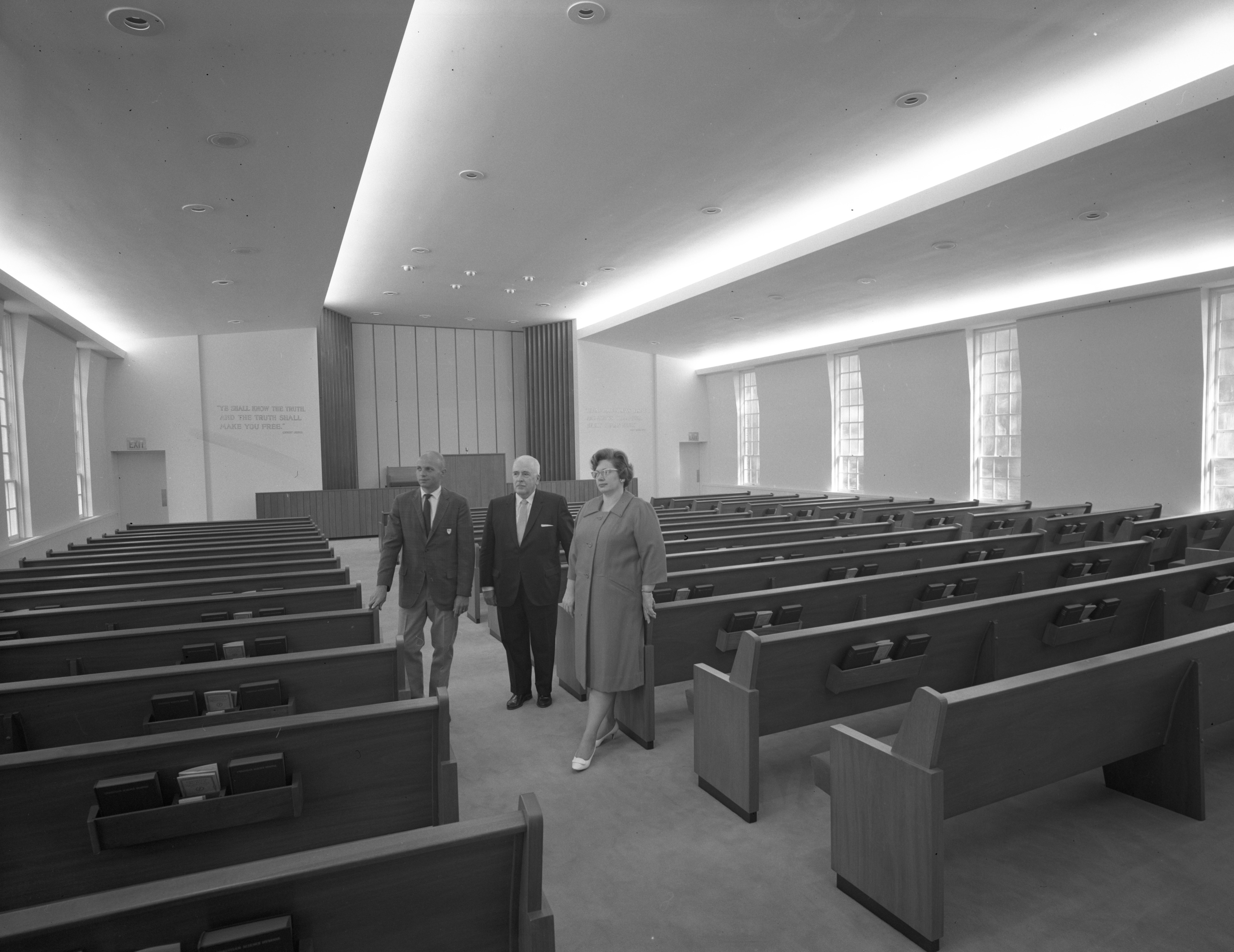 Christian Science Church addition, August 1967 image