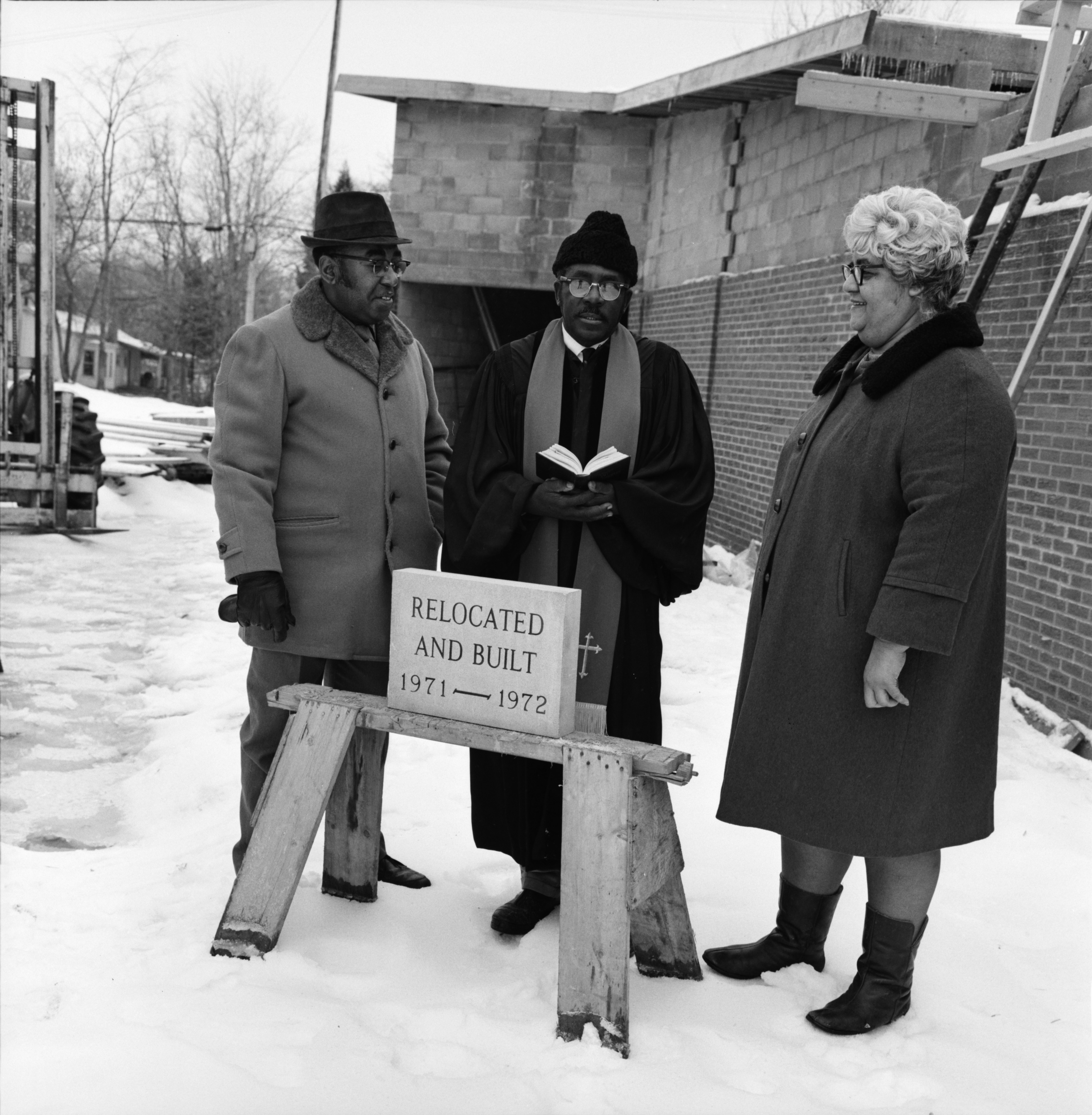Bethel A.M.E. Church Dedication, 900 Plum St, December 1972 image