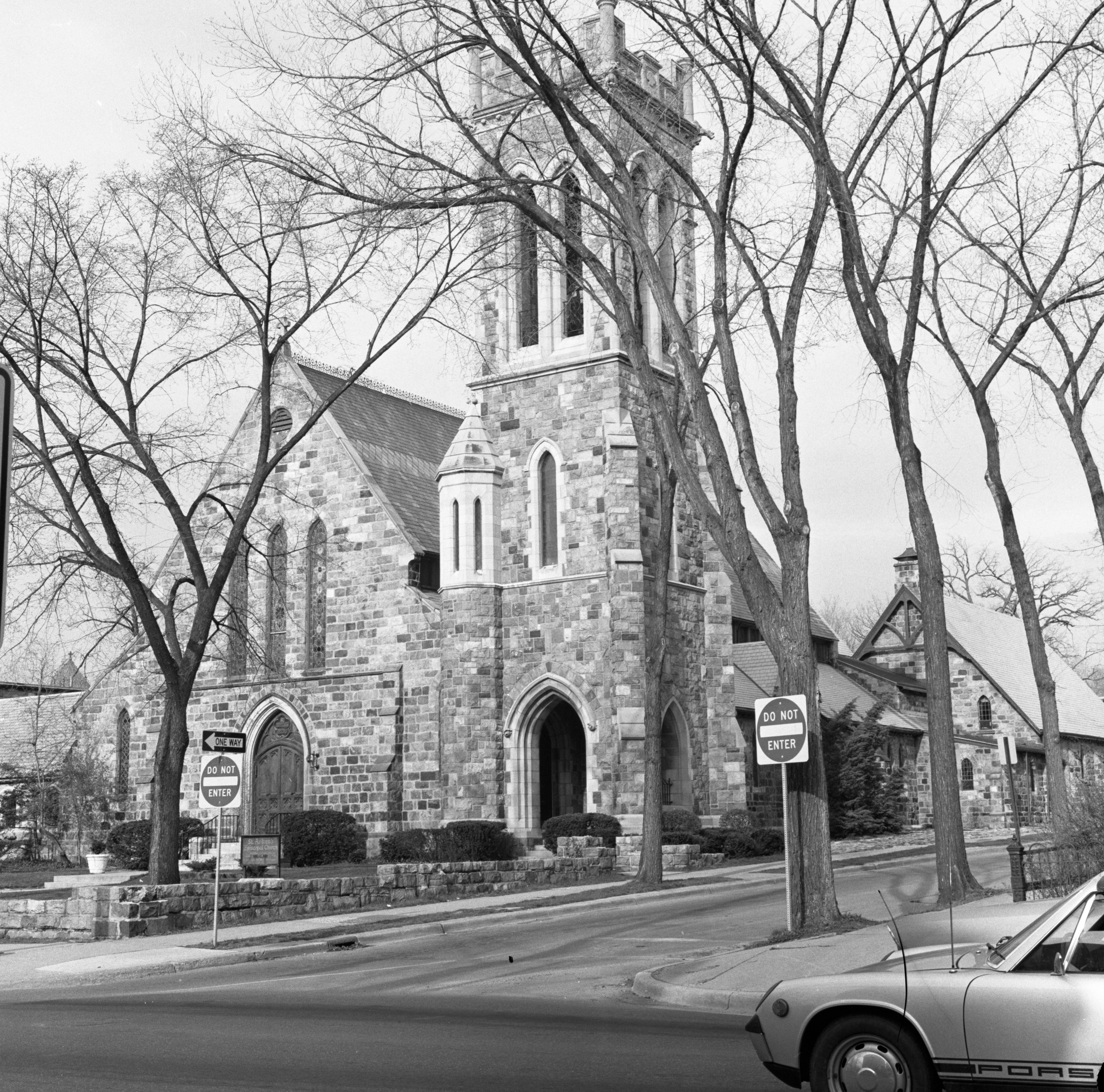 St. Andrew's Episcopal Church Anchors Division Street Historical District, May 1973 image