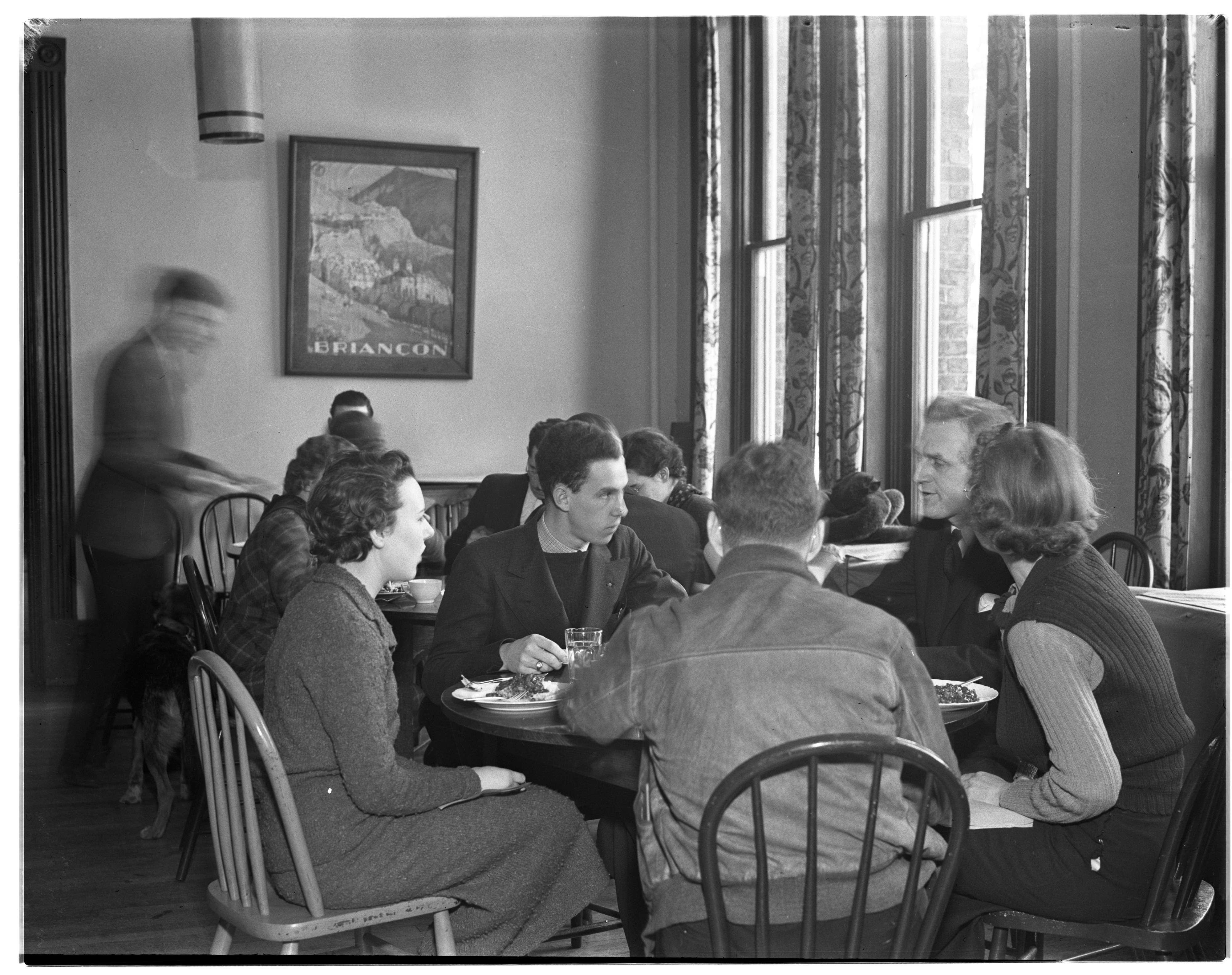 Starvation Lunch at Harris Hall, February 1937 image