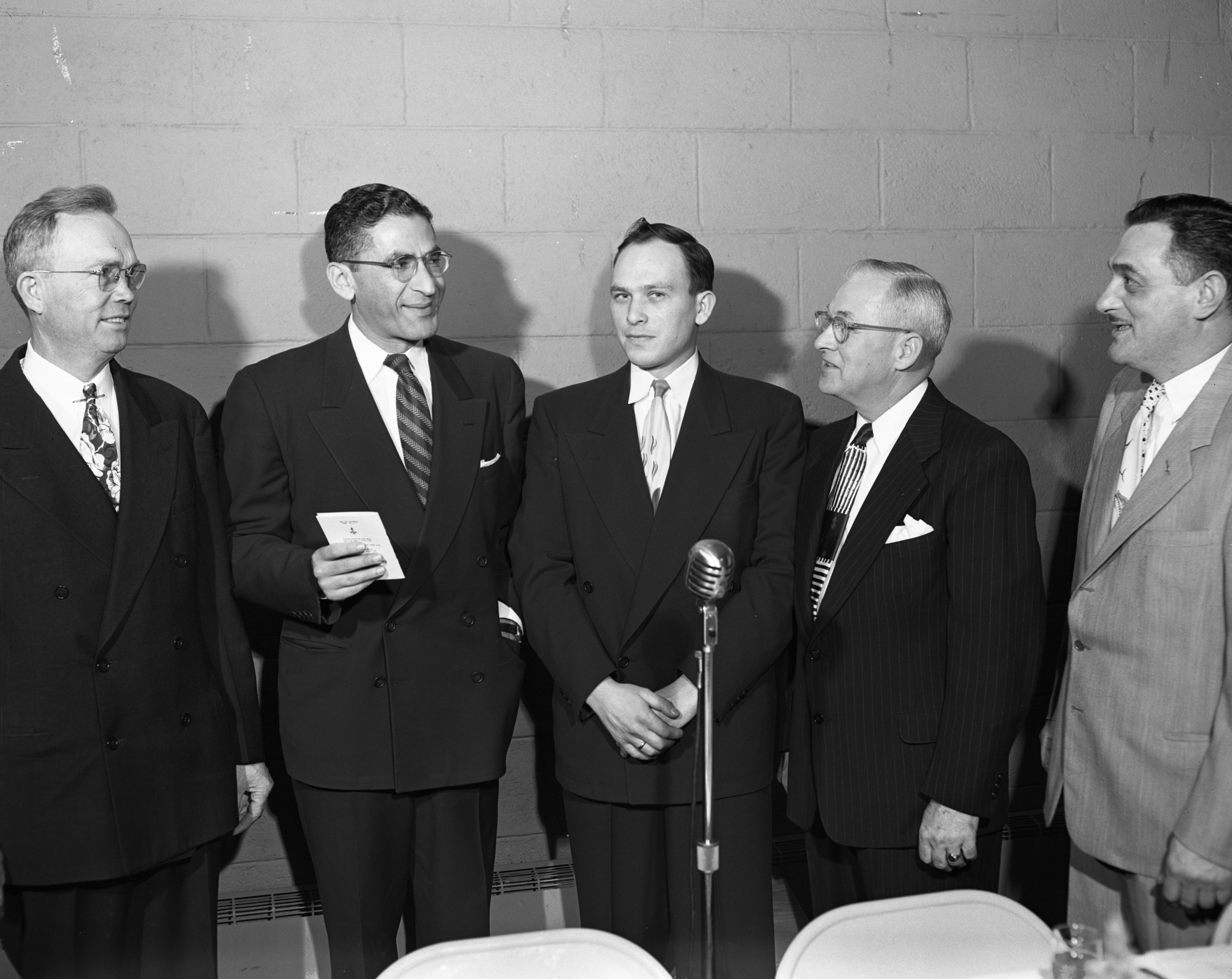 Second Annual All-Faith American Banquet, February 1952 image