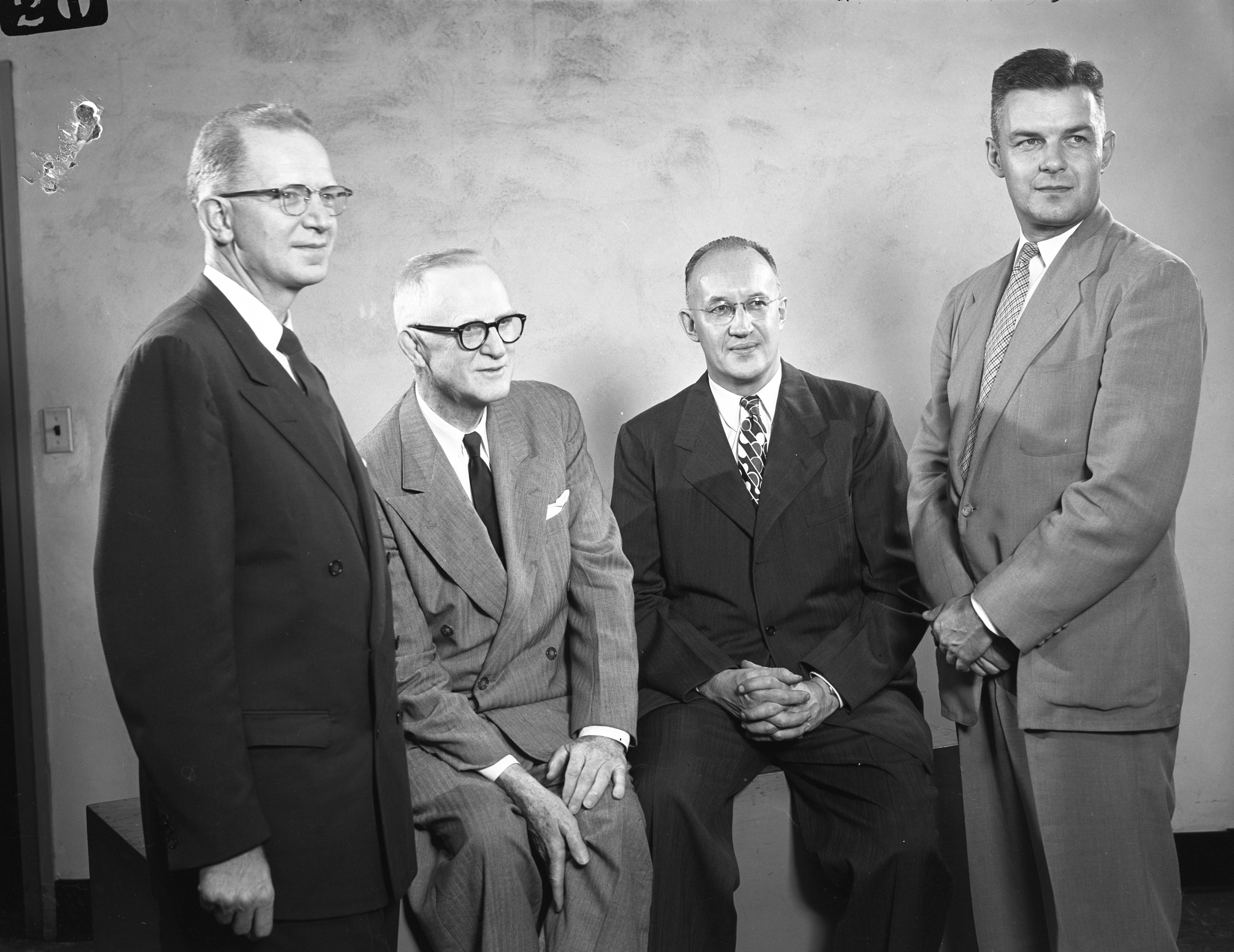 Leaders of United Church Canvass, October 1954 image