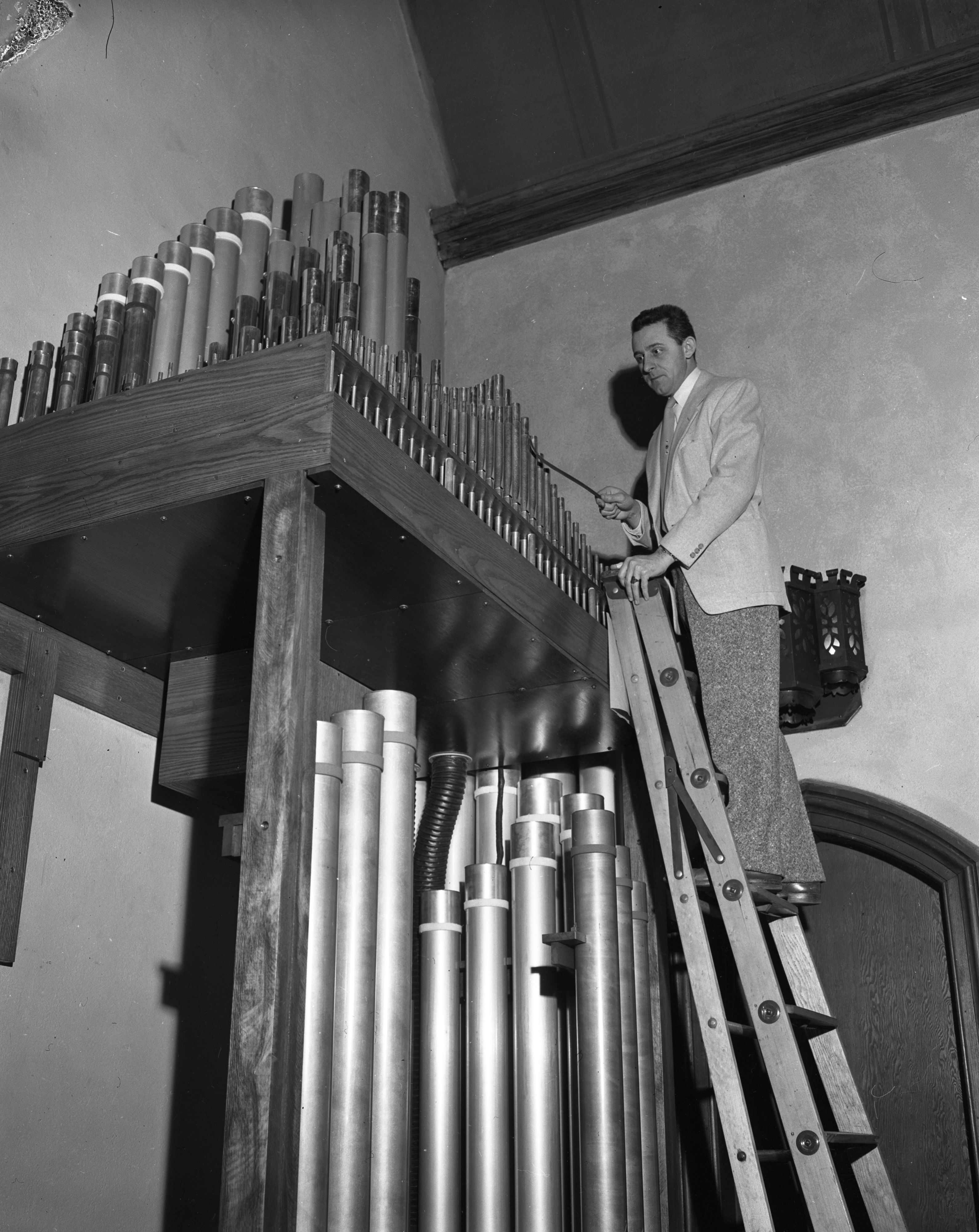 New Organ Tuned at St. Andrew's Episcopal Church, February 1956 image