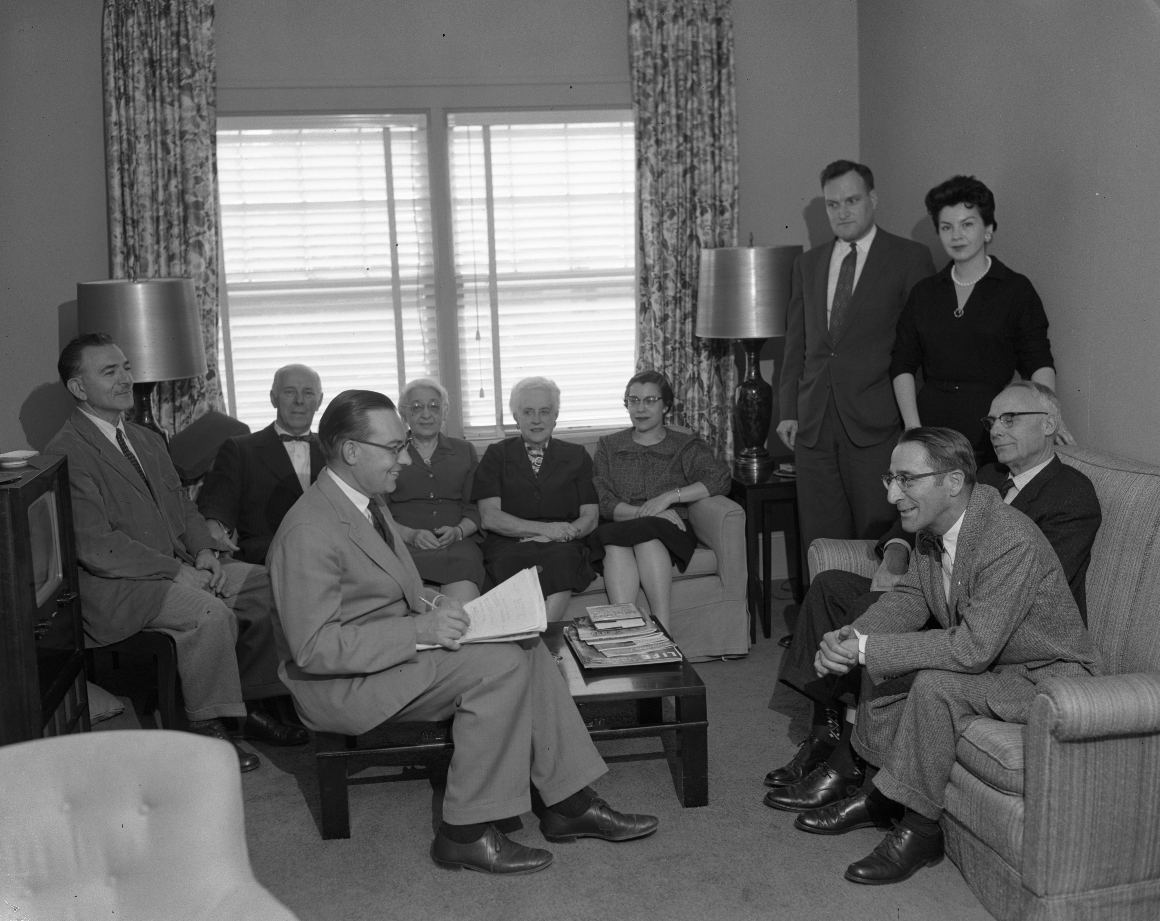 Planners of Human Relations Institute of the National Conference Of Christians and Jews, October 1958 image