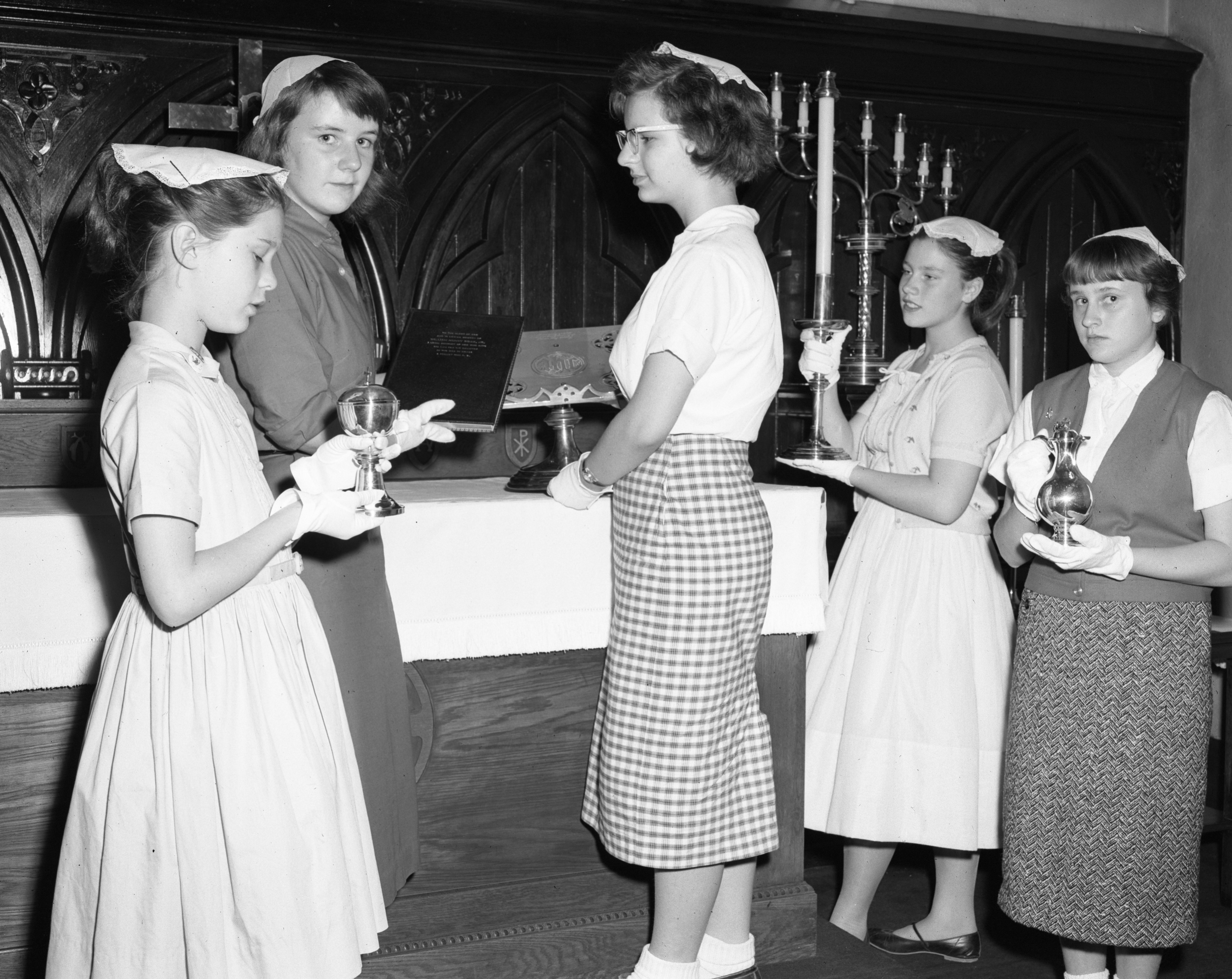 St. Luke's Episcopal Church Junior Altar Guild, May 1959 image