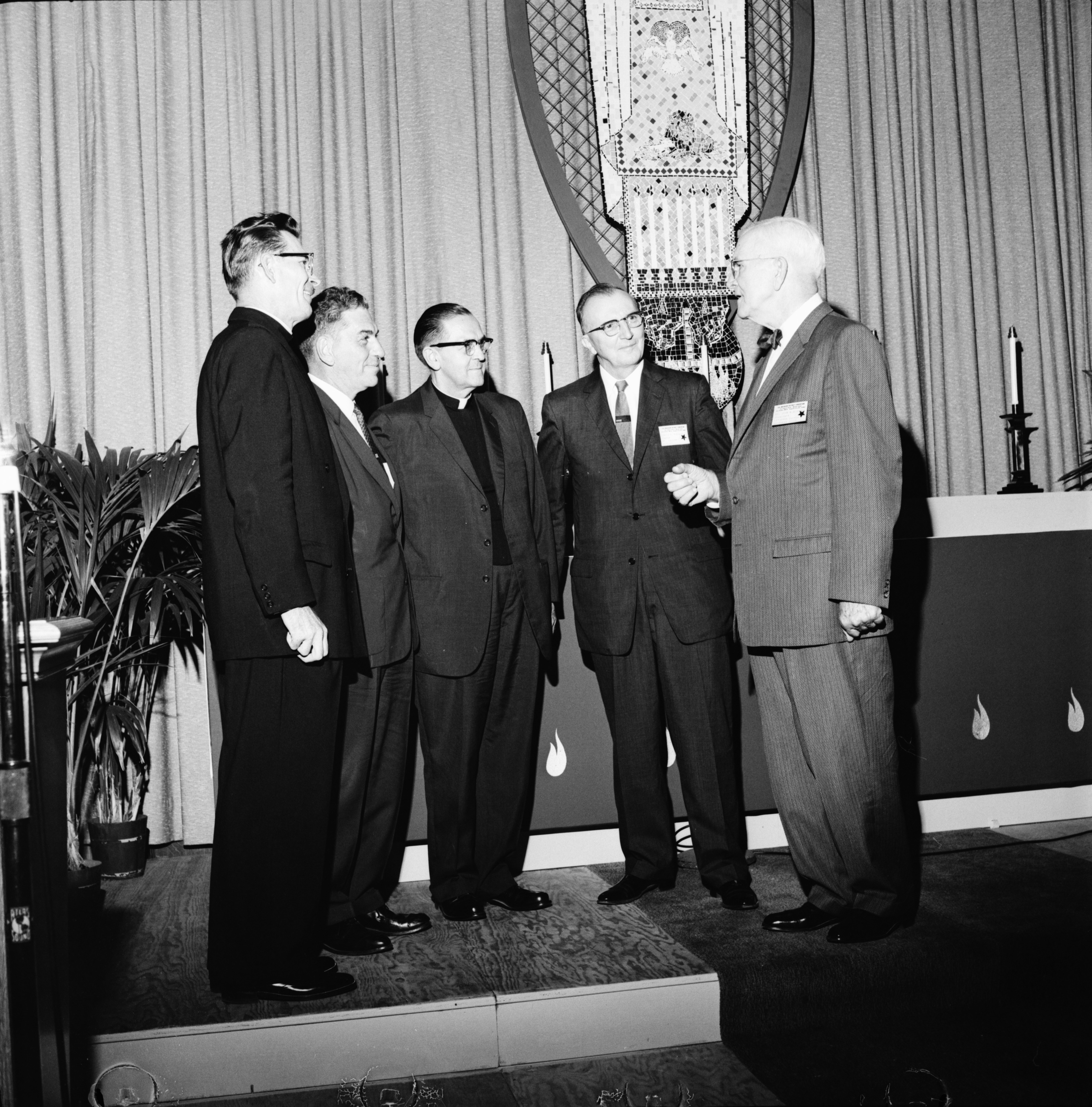 Officers Elected At Lutheran Convention of the Michigan District, August 1960 image