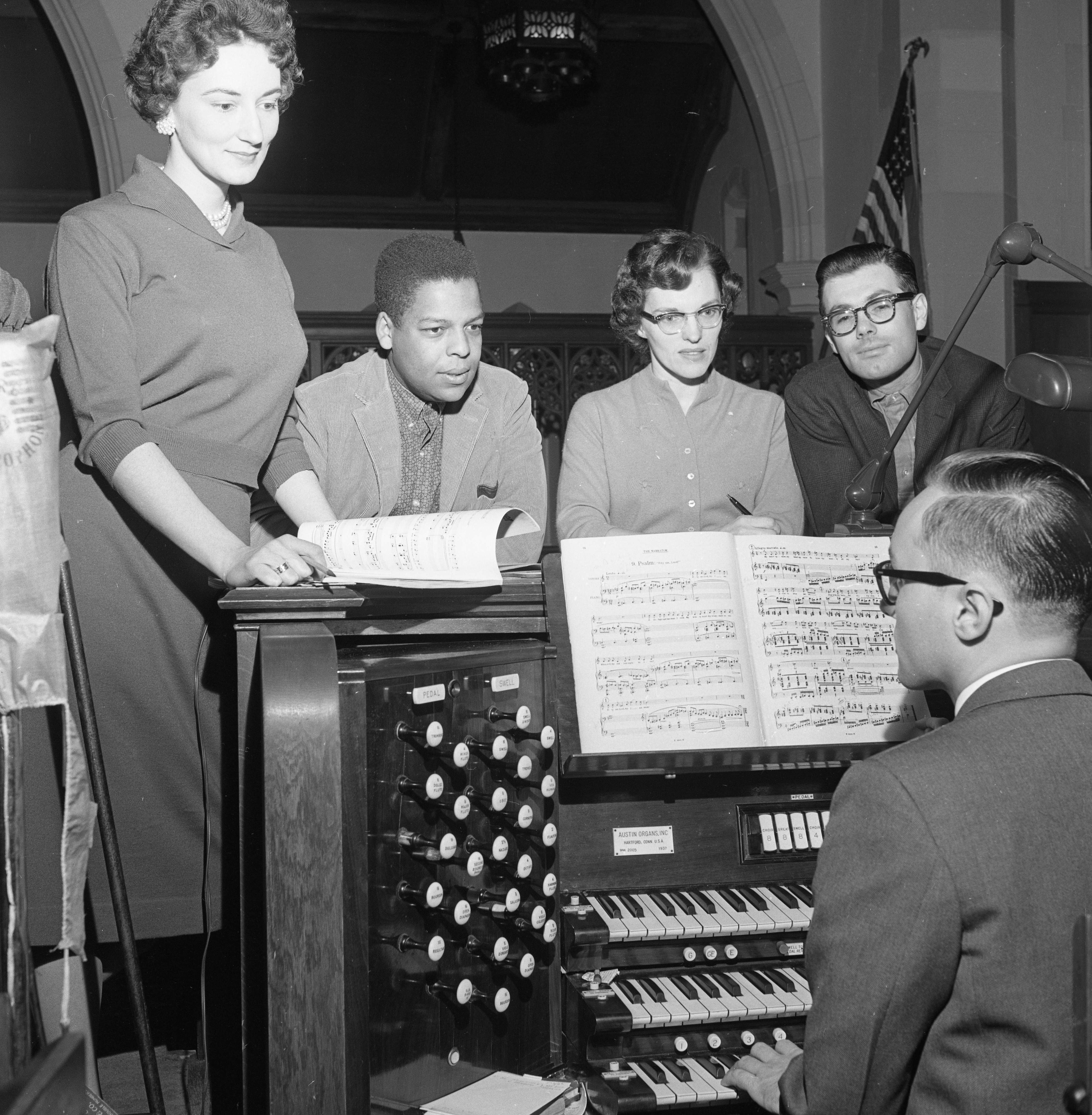 Soloists for Dramatic Oratorio at St. Andrew's Episcopal Church, February 1962 image