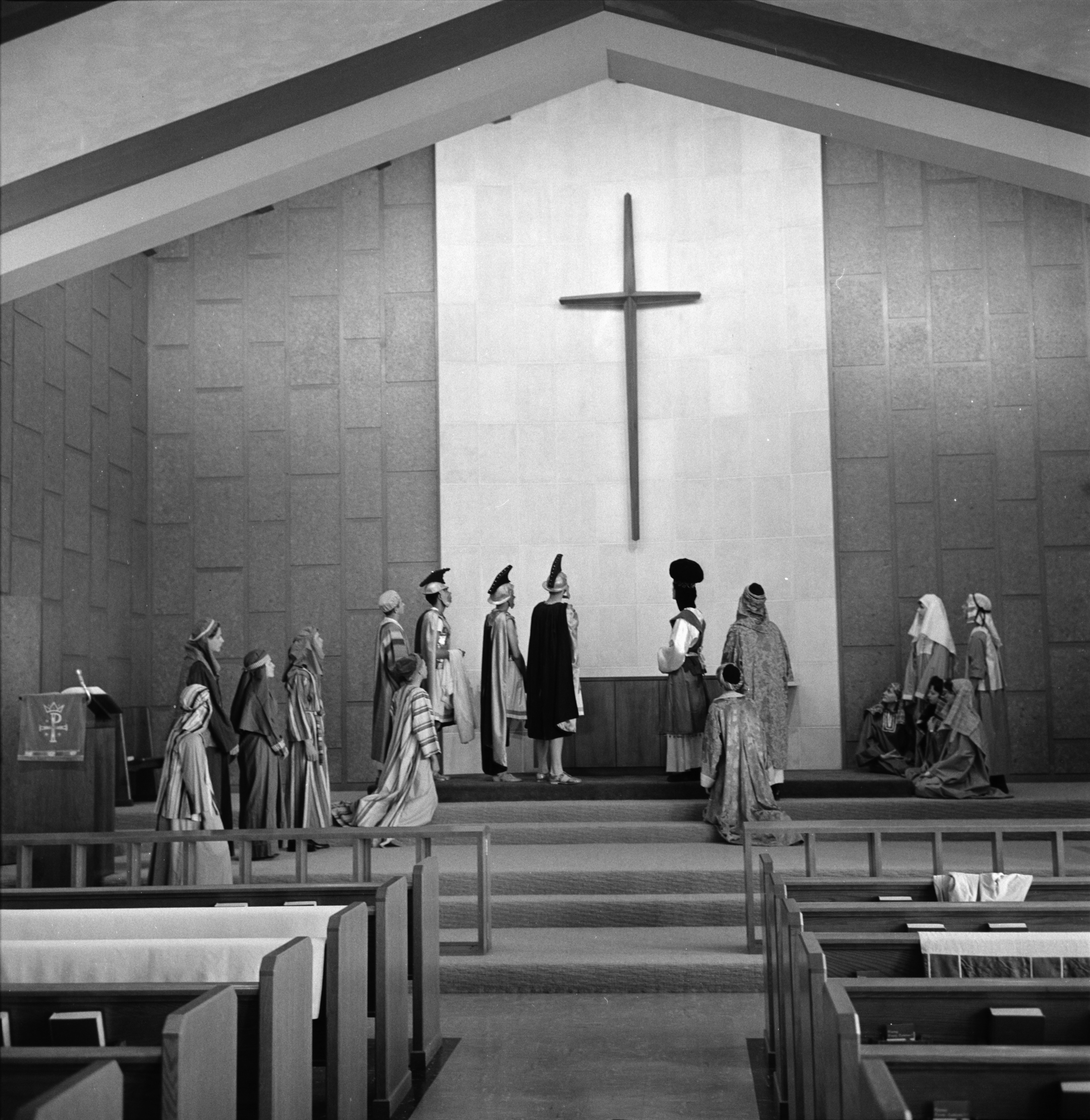 Easter Pageant At Trinity Lutheran Church, April 1963 image