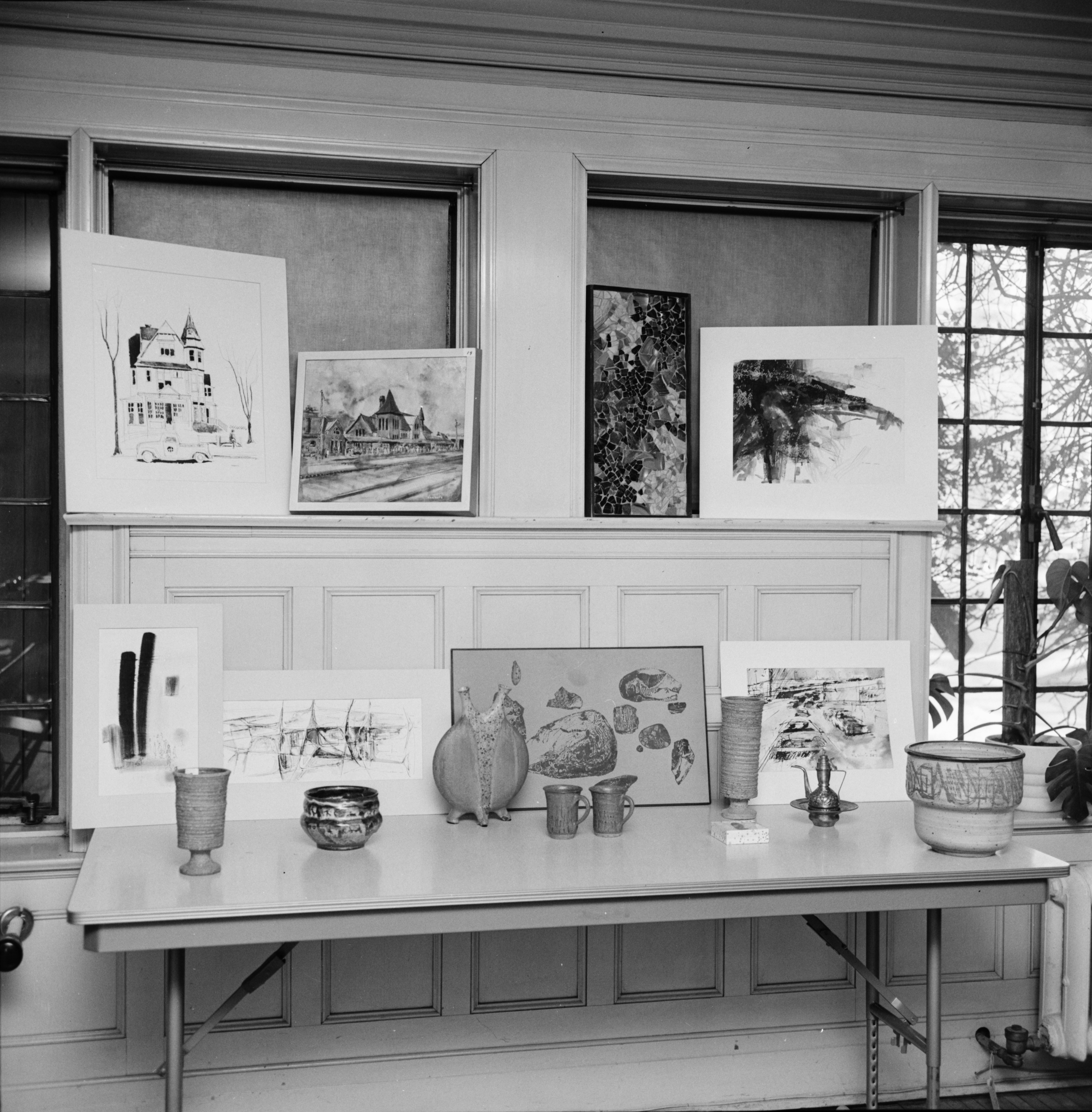 Art Auction at First Unitarian Church, February 1964 image