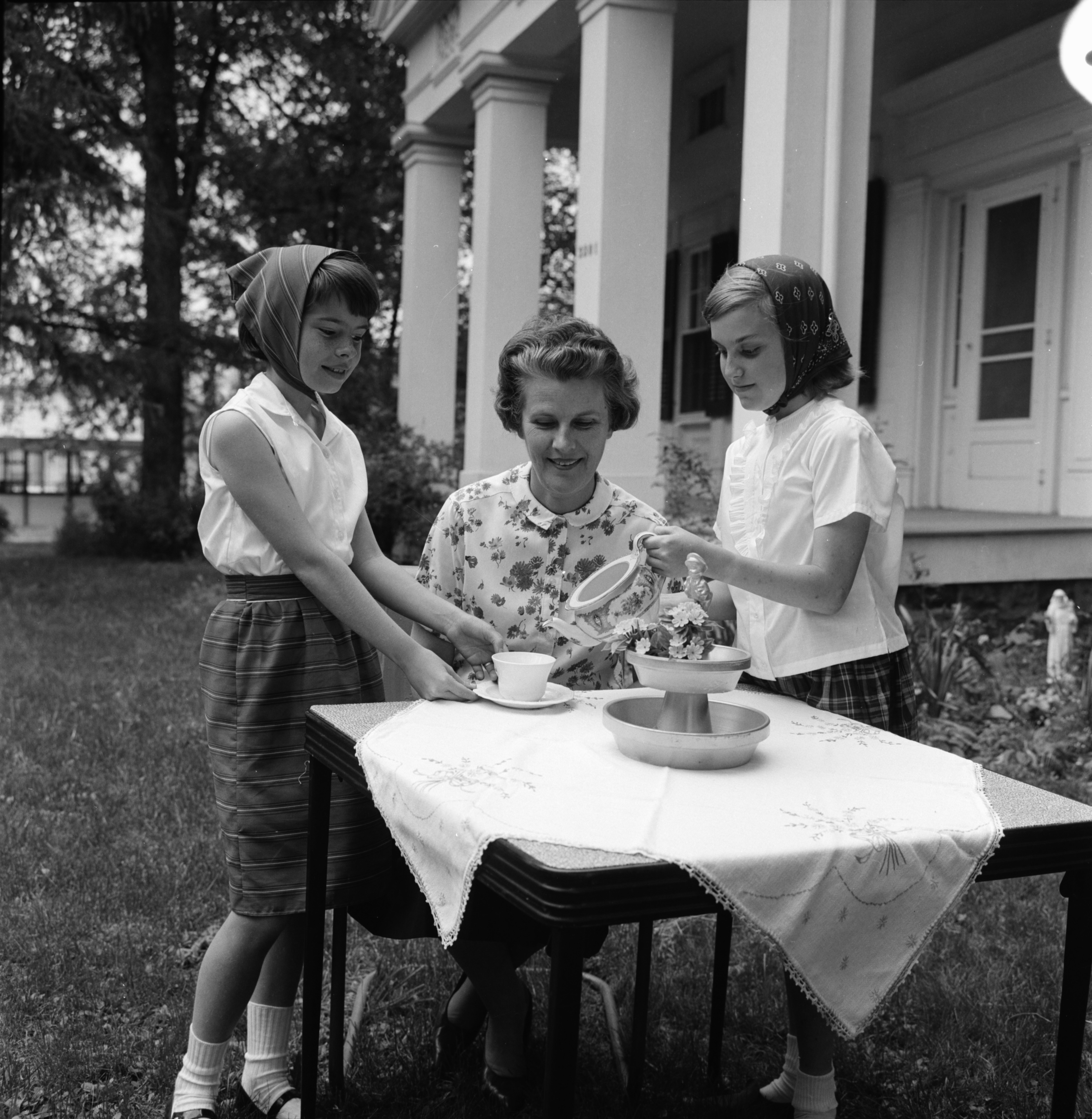 Afternoon Tea at St. Clare's Episcopal Mission, June 1964 image
