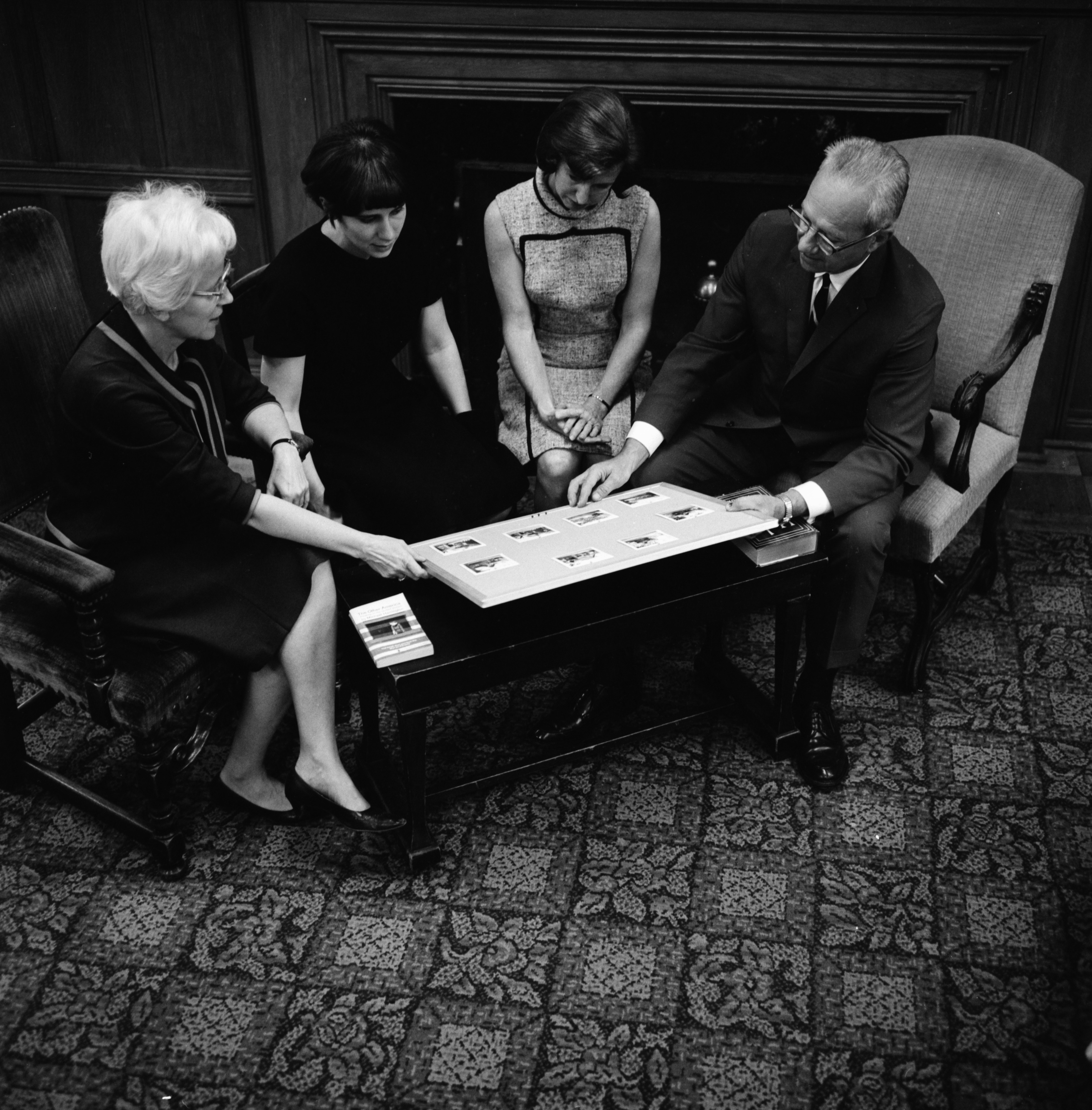 "First Presbyterian Church Leaders Planning ""Housing Plus,"" September 1966 image"