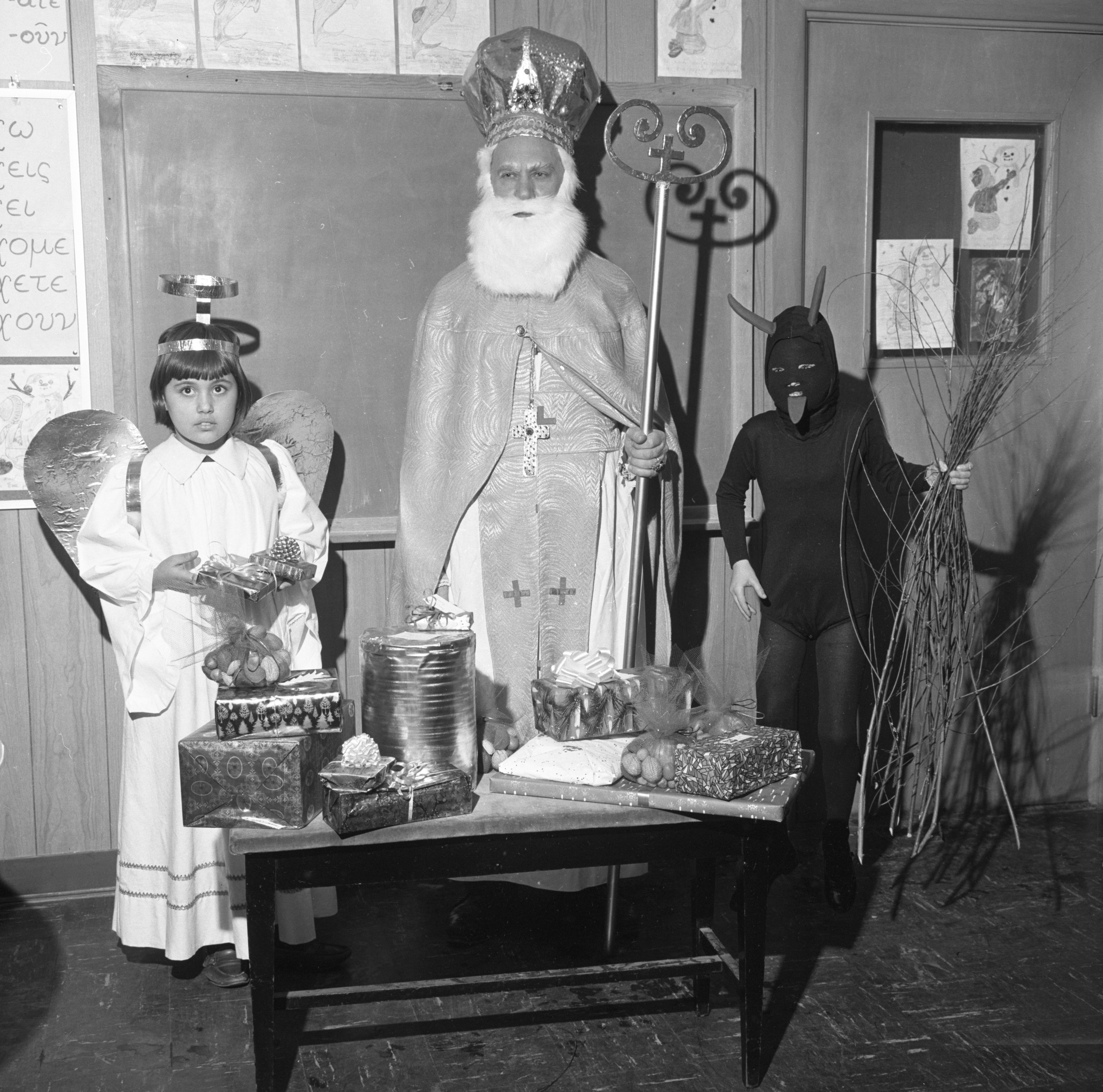 Local Ukranians Celebrate St. Nicholas Day, December 1966 image