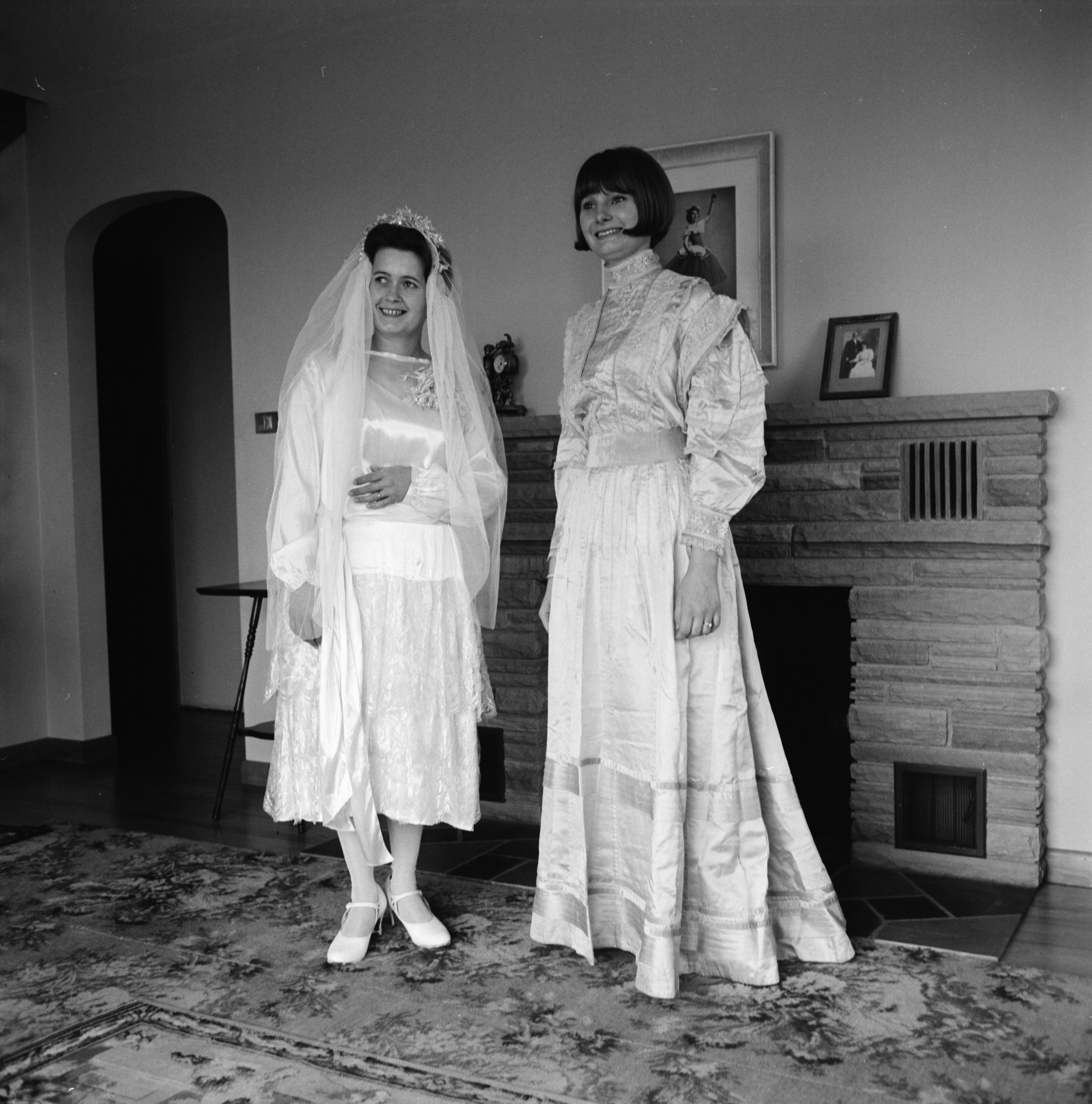 Heirloom Wedding Gowns Shown at Mother-Daughter Breakfast, St. Thomas Lutheran Church, May 1967 image