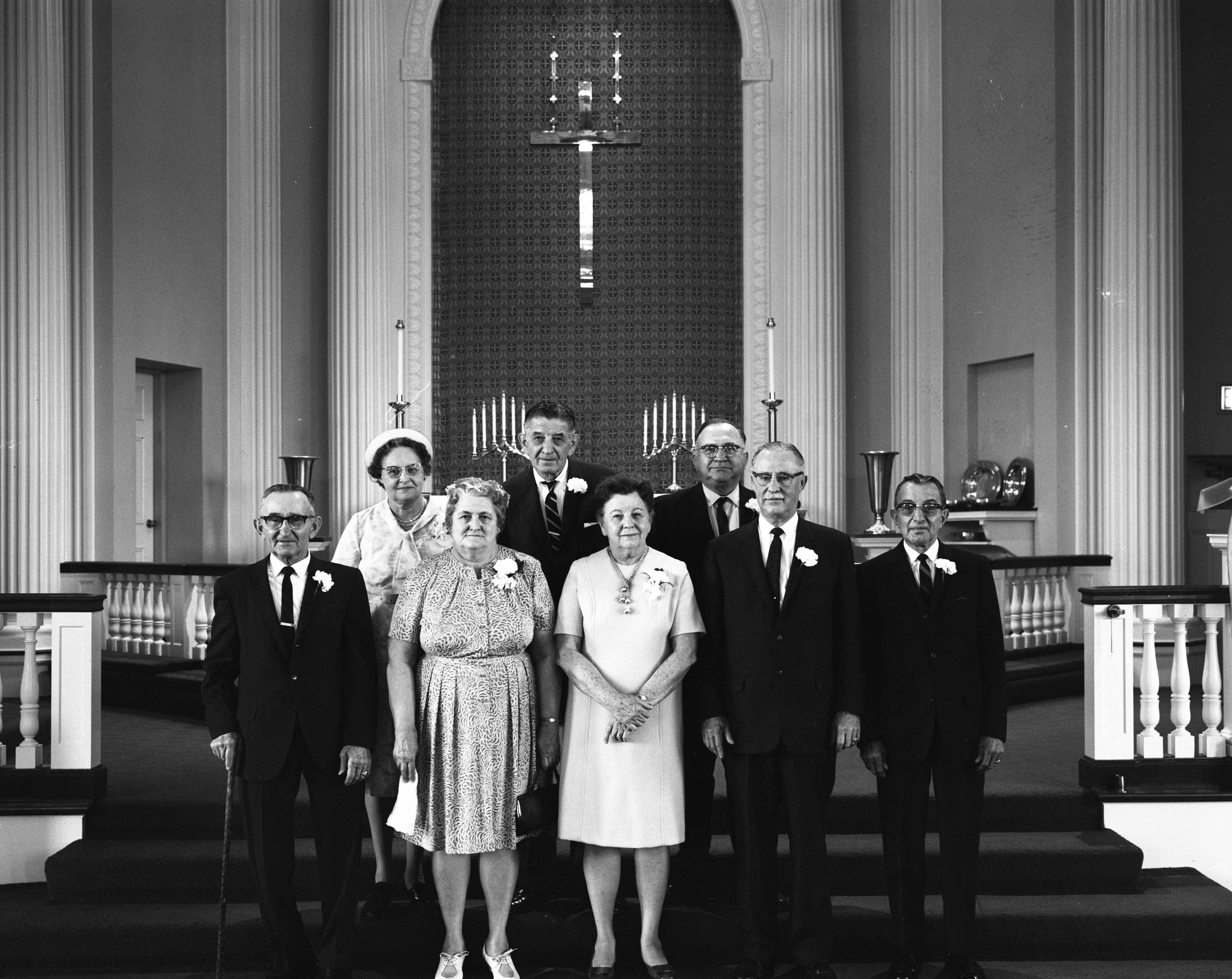 50th Anniversary Confirmation Class Reunion at Zion Lutheran Church, May 1968 image