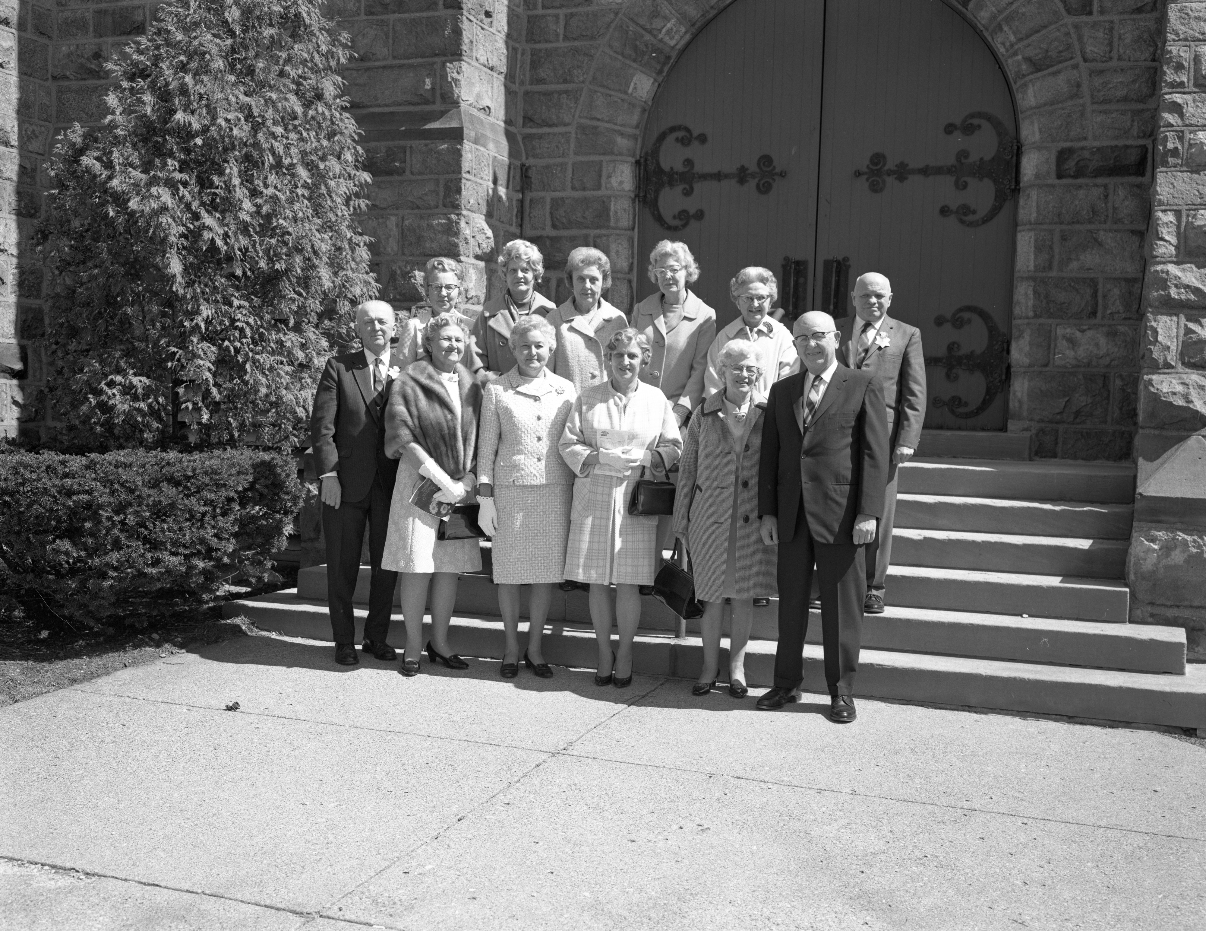 50 Year Reunion of Bethlehem Church's 1920 Confirmation Class, April 1970 image