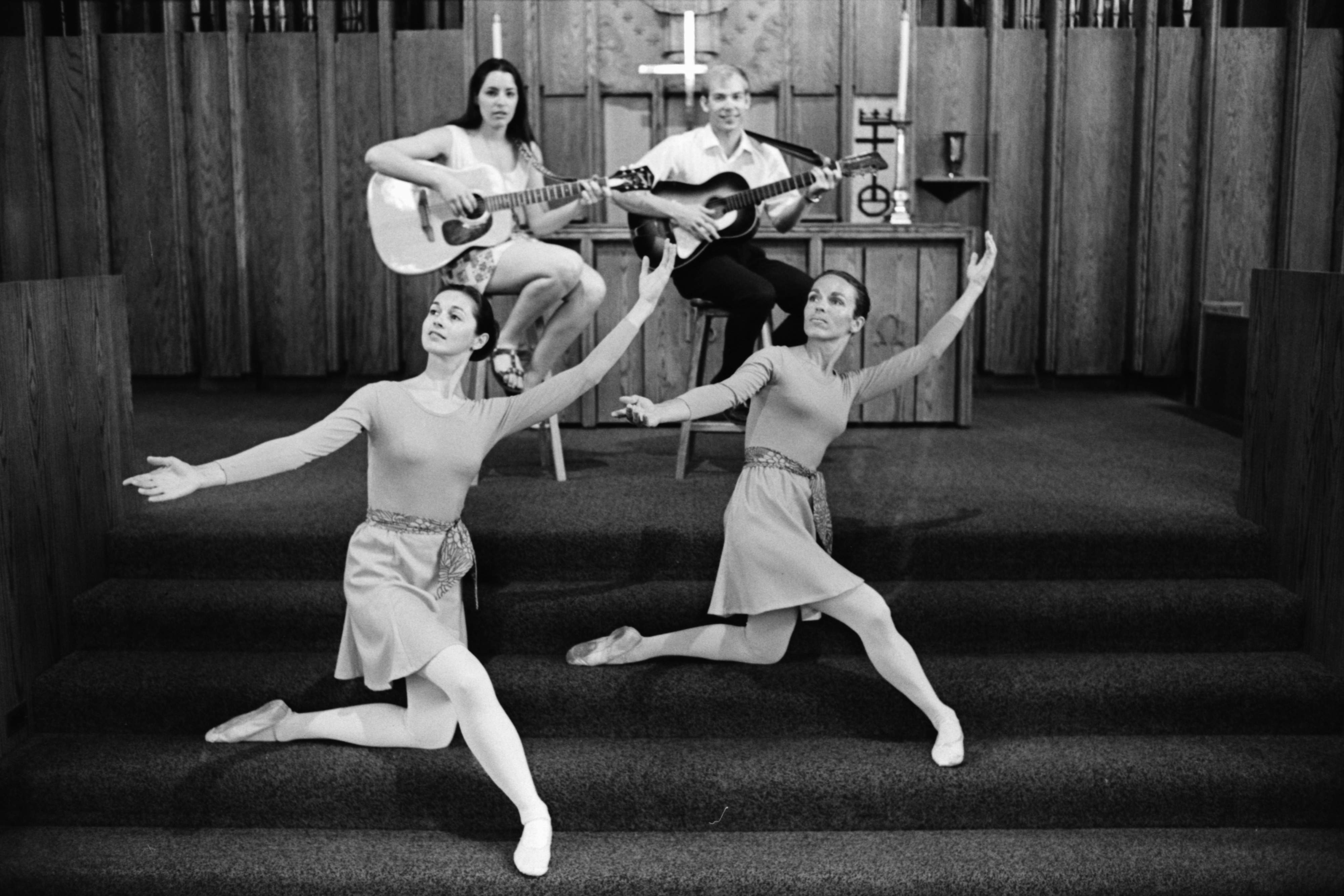 Dance at Bethlehem United Church of God Service, May 1970 image