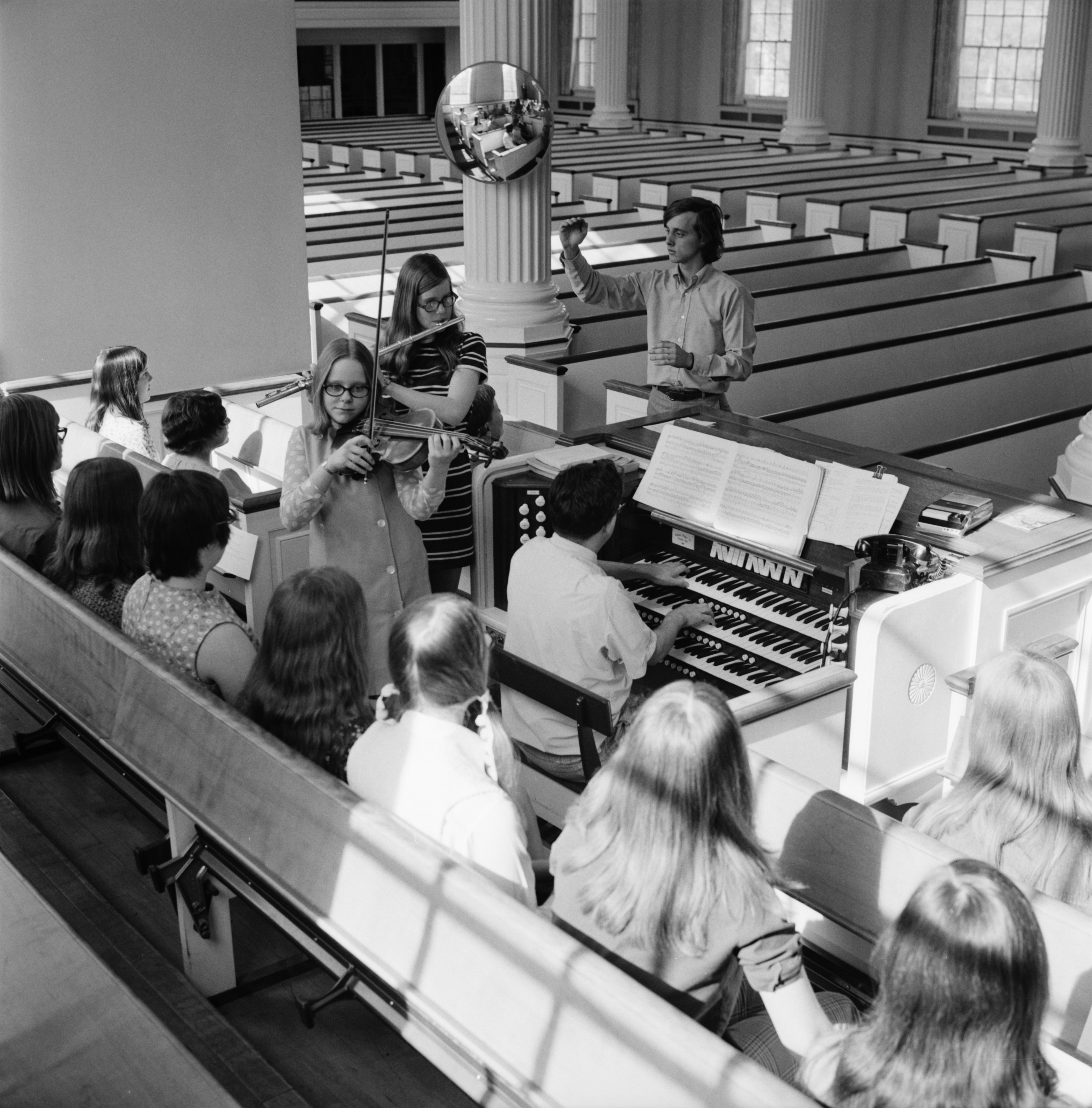 Zion Youth Choir And Instrumentalists, May 1971 image