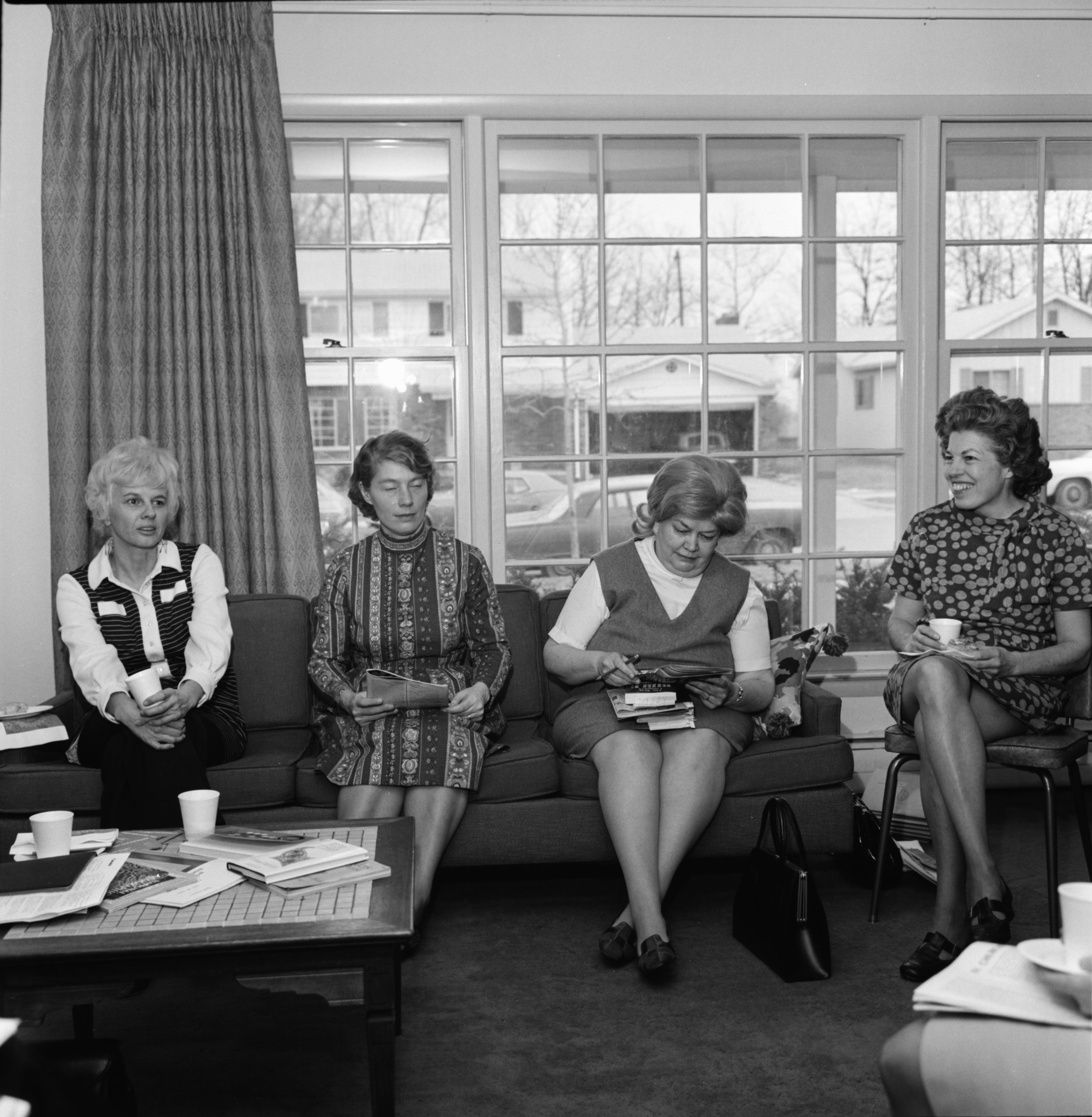 Women Discussing Sexism In Religion, February 1972 image