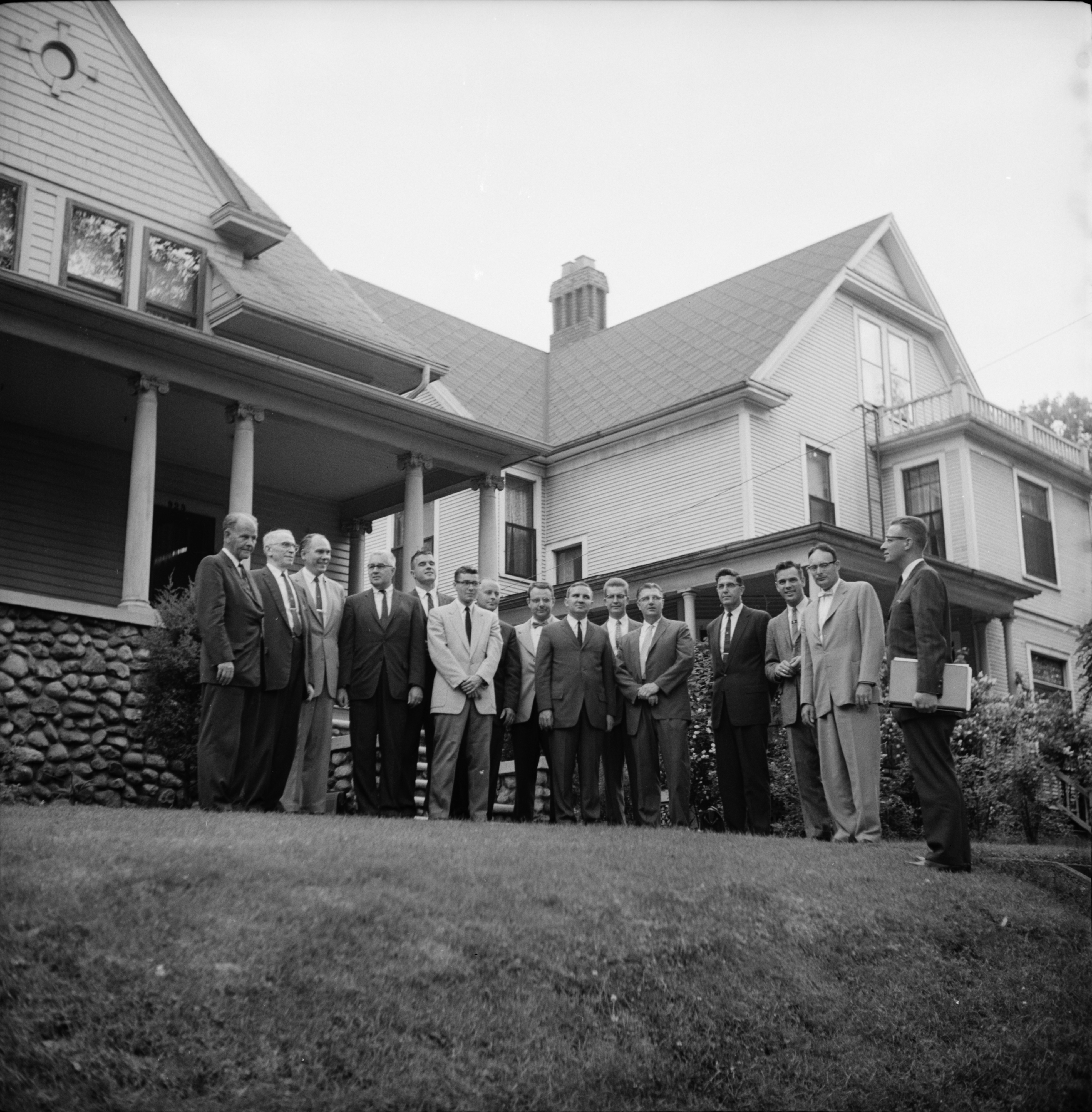 University Reformed Church Committee Buys Site For Reformed Church, June 1960 image
