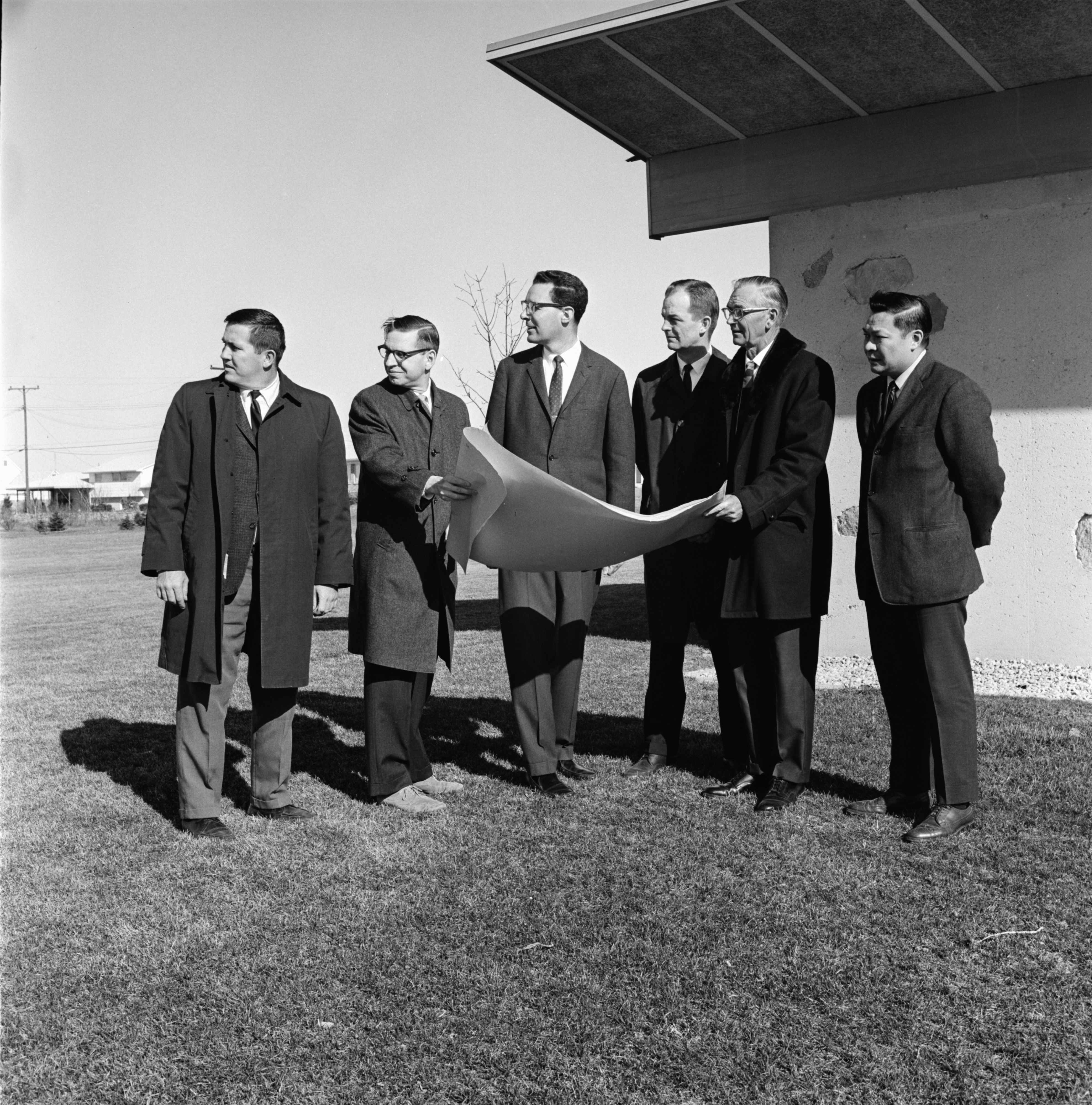 Groundbreaking Ceremony for Westminster Presbyterian Church, April 1968 image