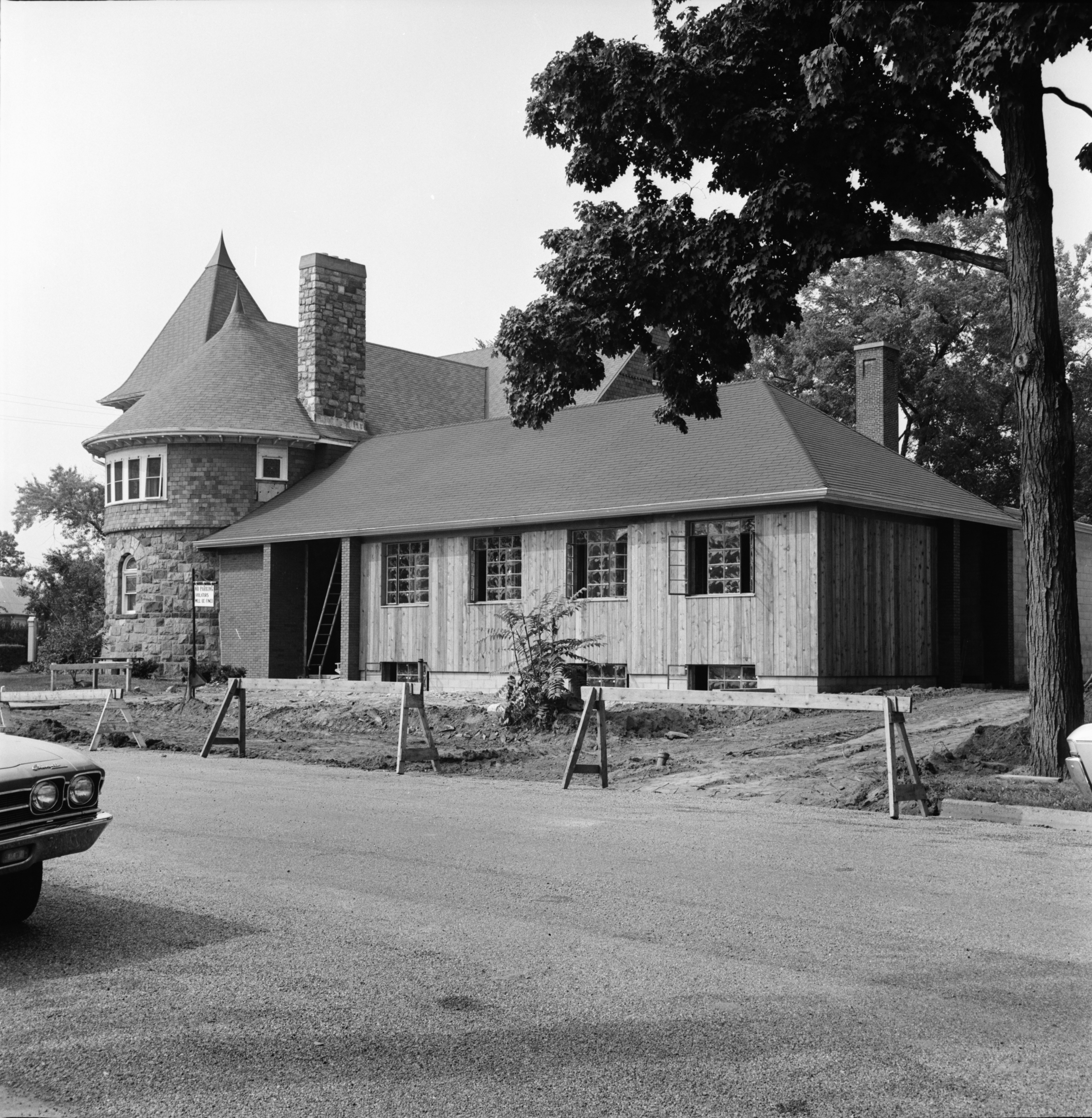 New Addition to Memorial Christian Church, September 1969 image