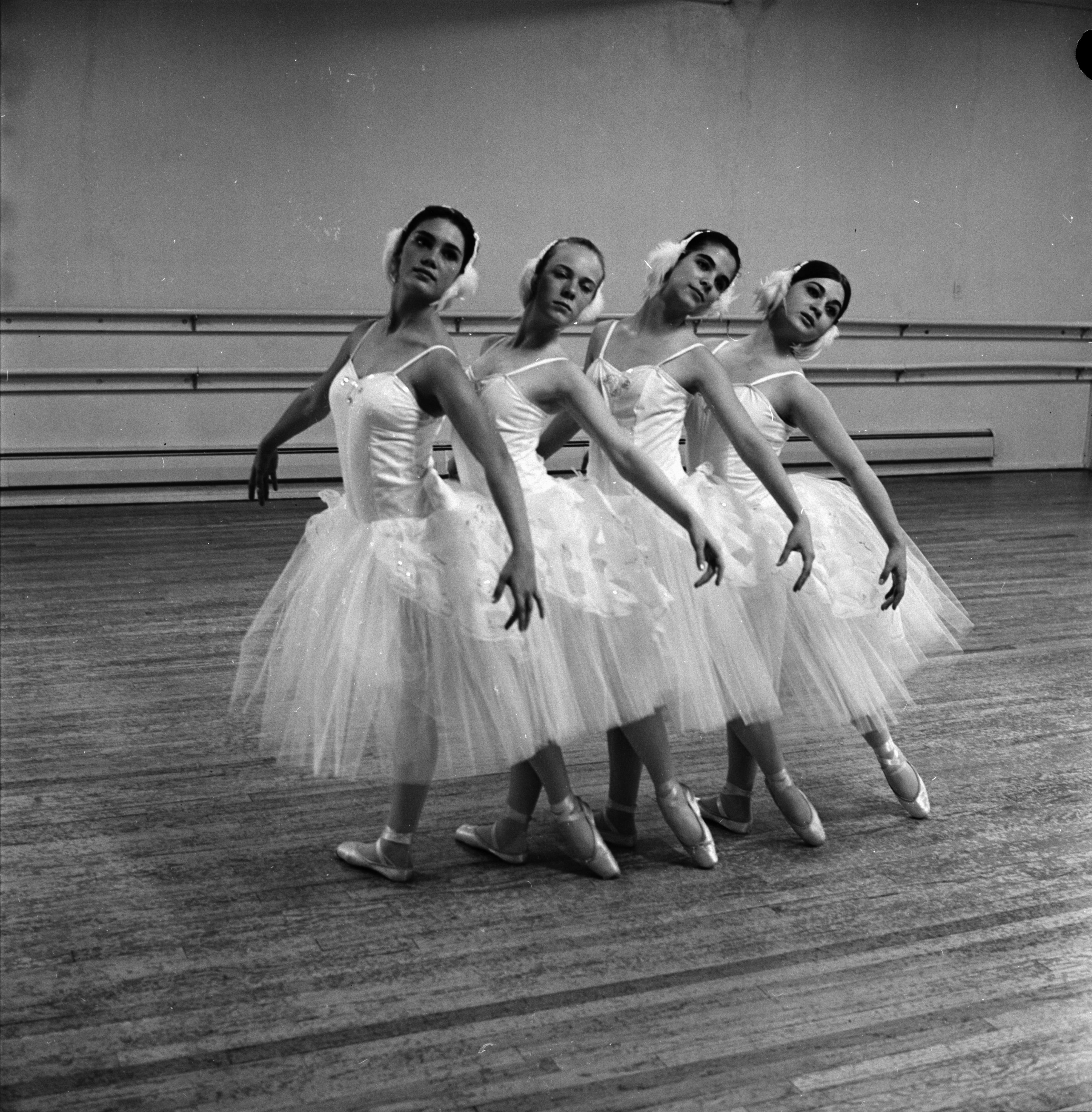 Ann Arbor High School Ballerinas from Sylvia Studio of Dance, May 1968 image