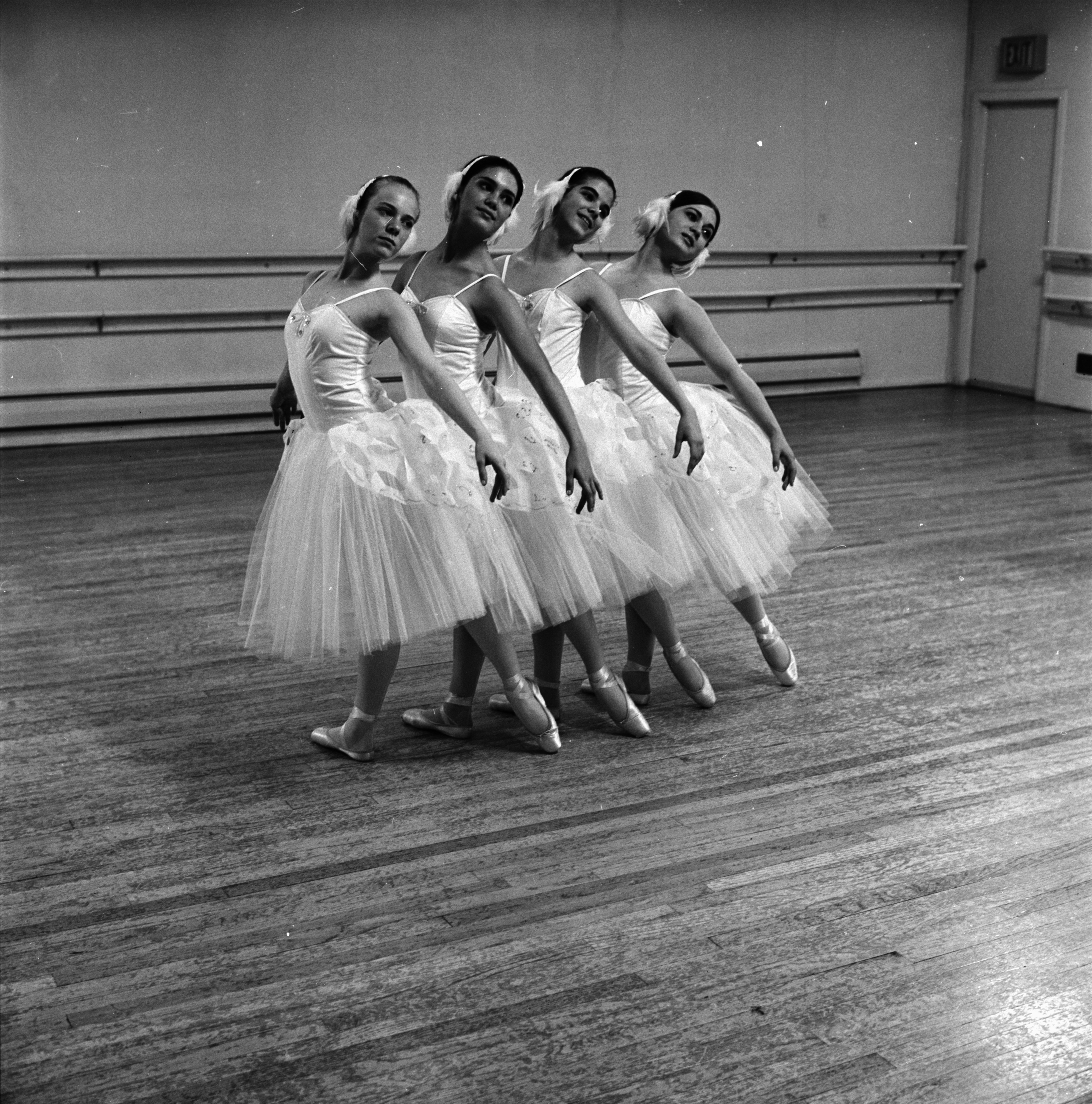 Ann Arbor High School Ballerinas of Sylvia Studio of Dance, May 1968 image