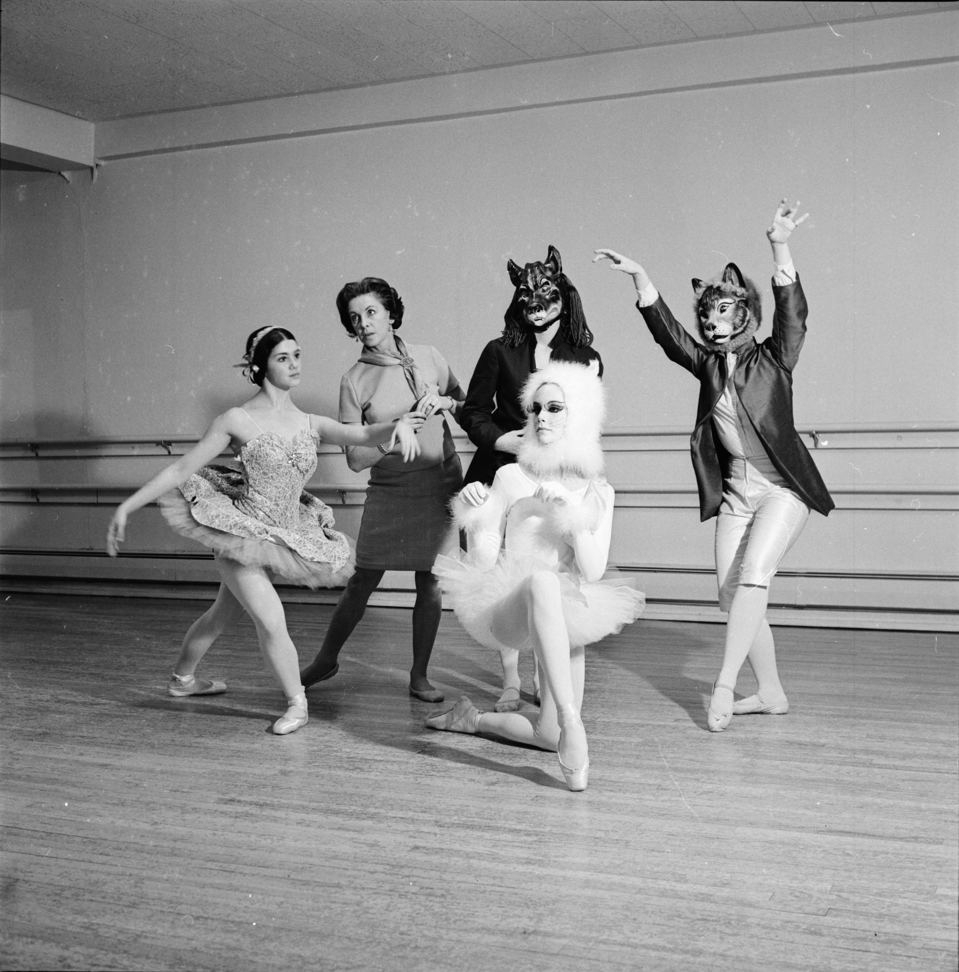 Ann Arbor Civic Ballet, March 1969 image