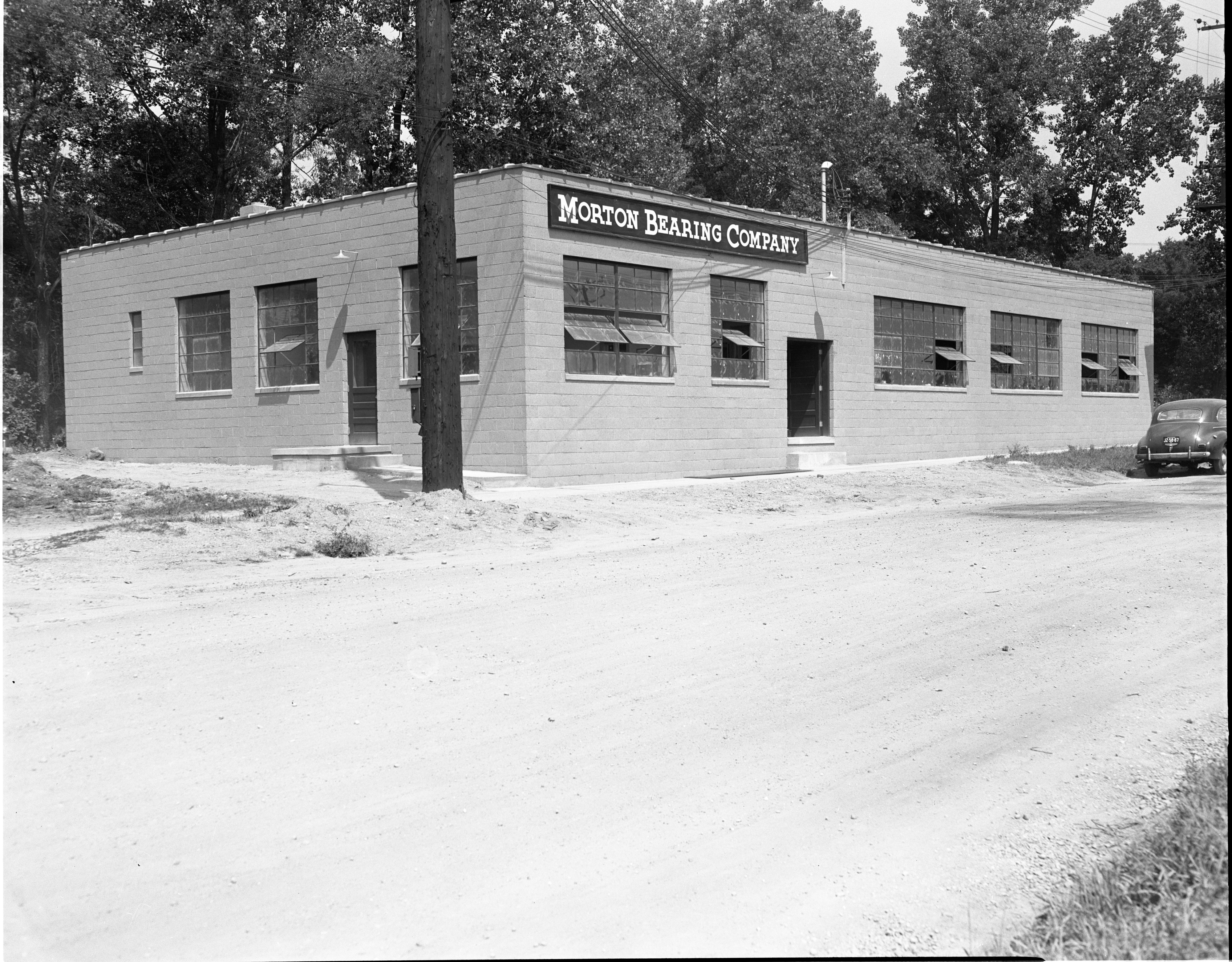 Morton Bearing Company's New Building - 815 Wildt Street, August 1953 image