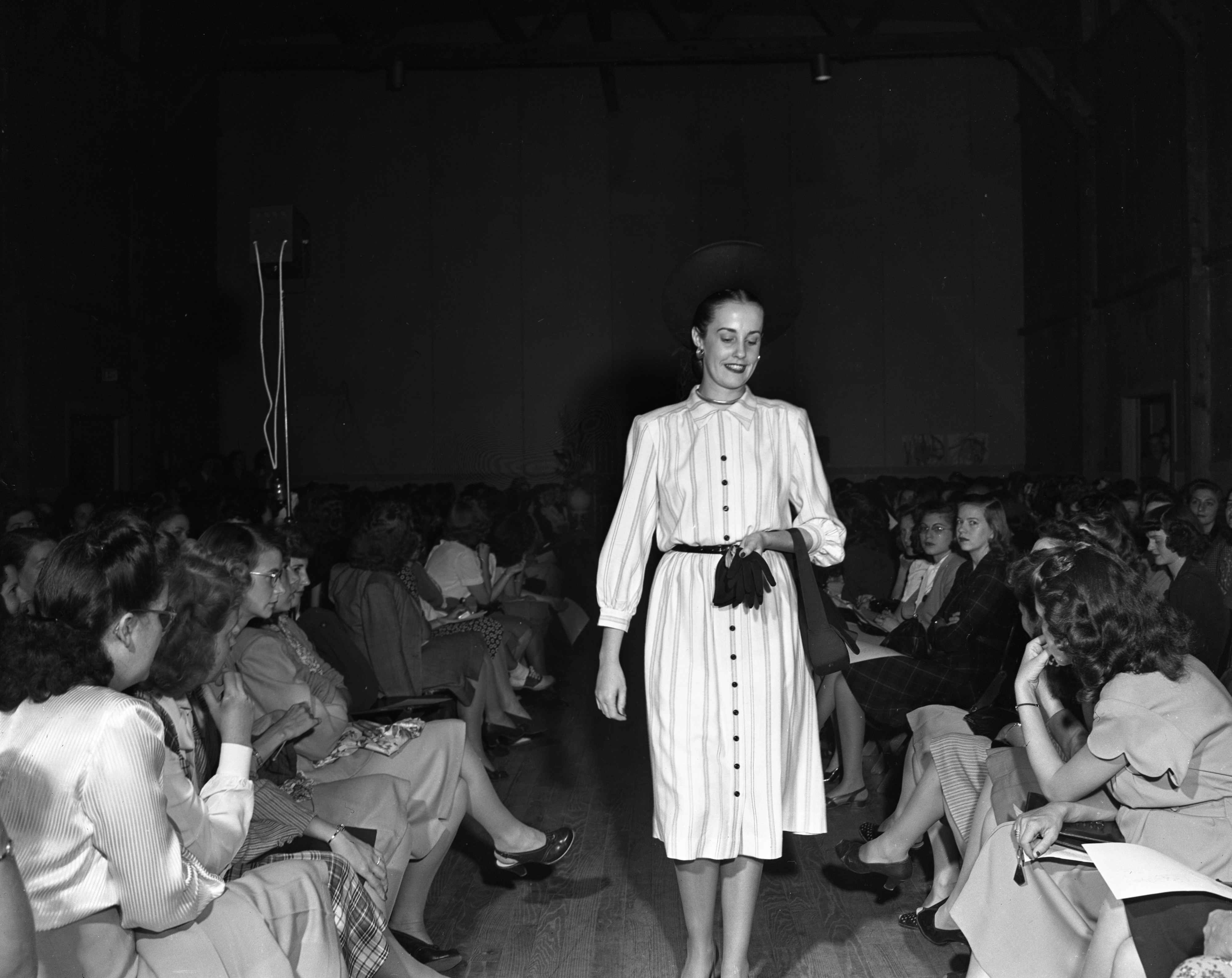 Fashion Show at Willow Village, October 1947 image