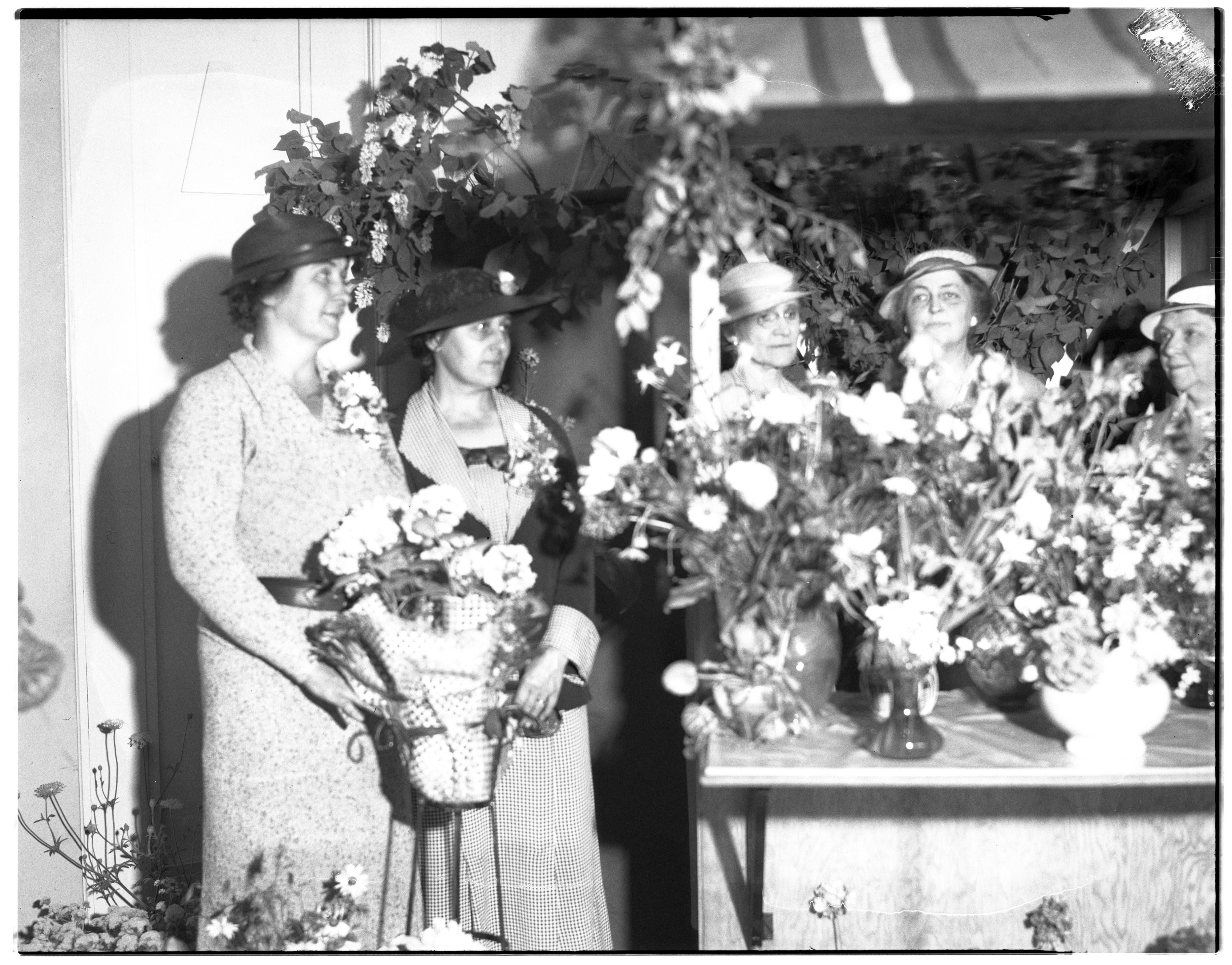 Ann Arbor Flower Show at the Masonic Temple, June, 1935 image