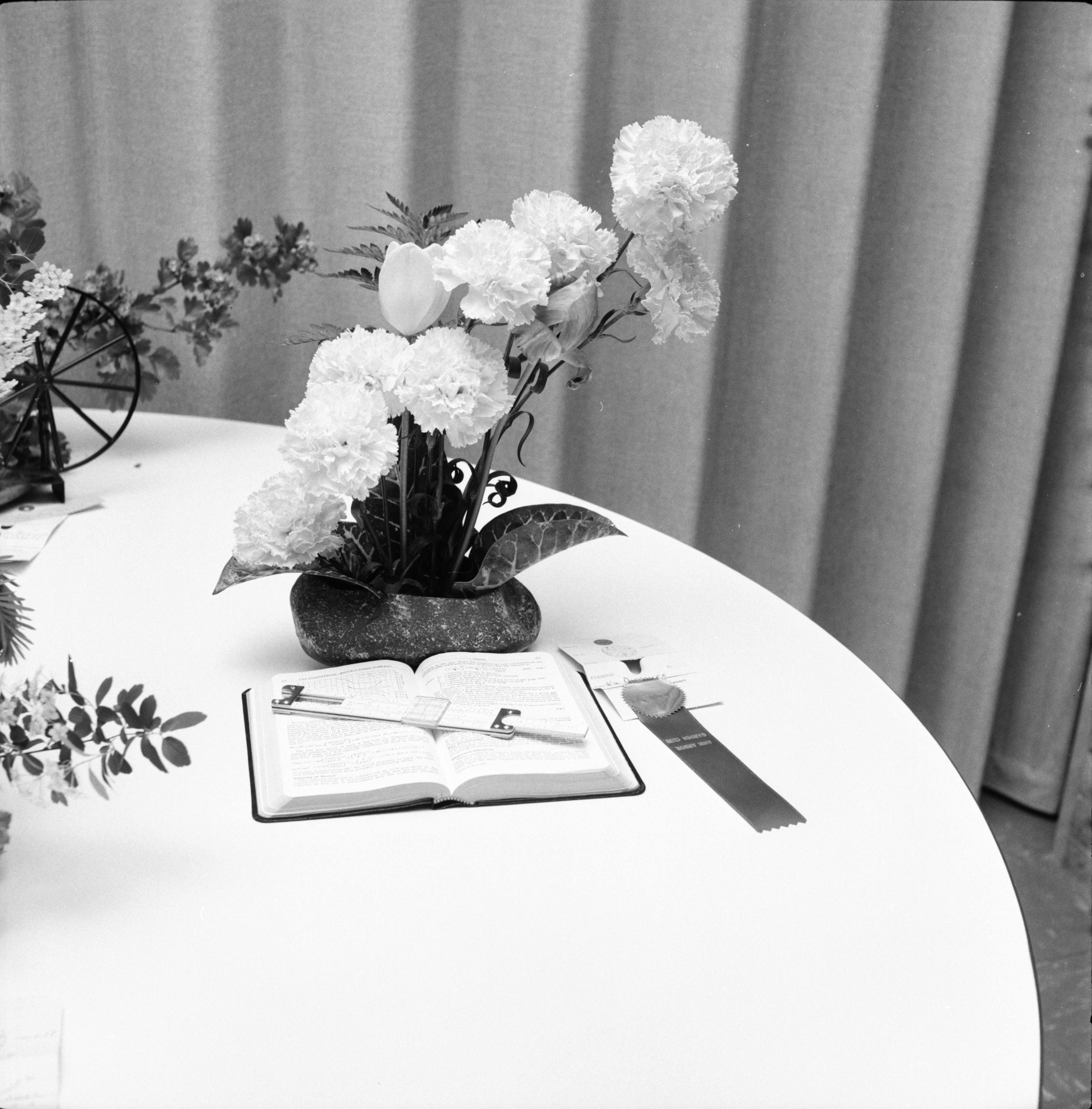 Ann Arbor Garden Club 30th Anniversary Flower Show Blue