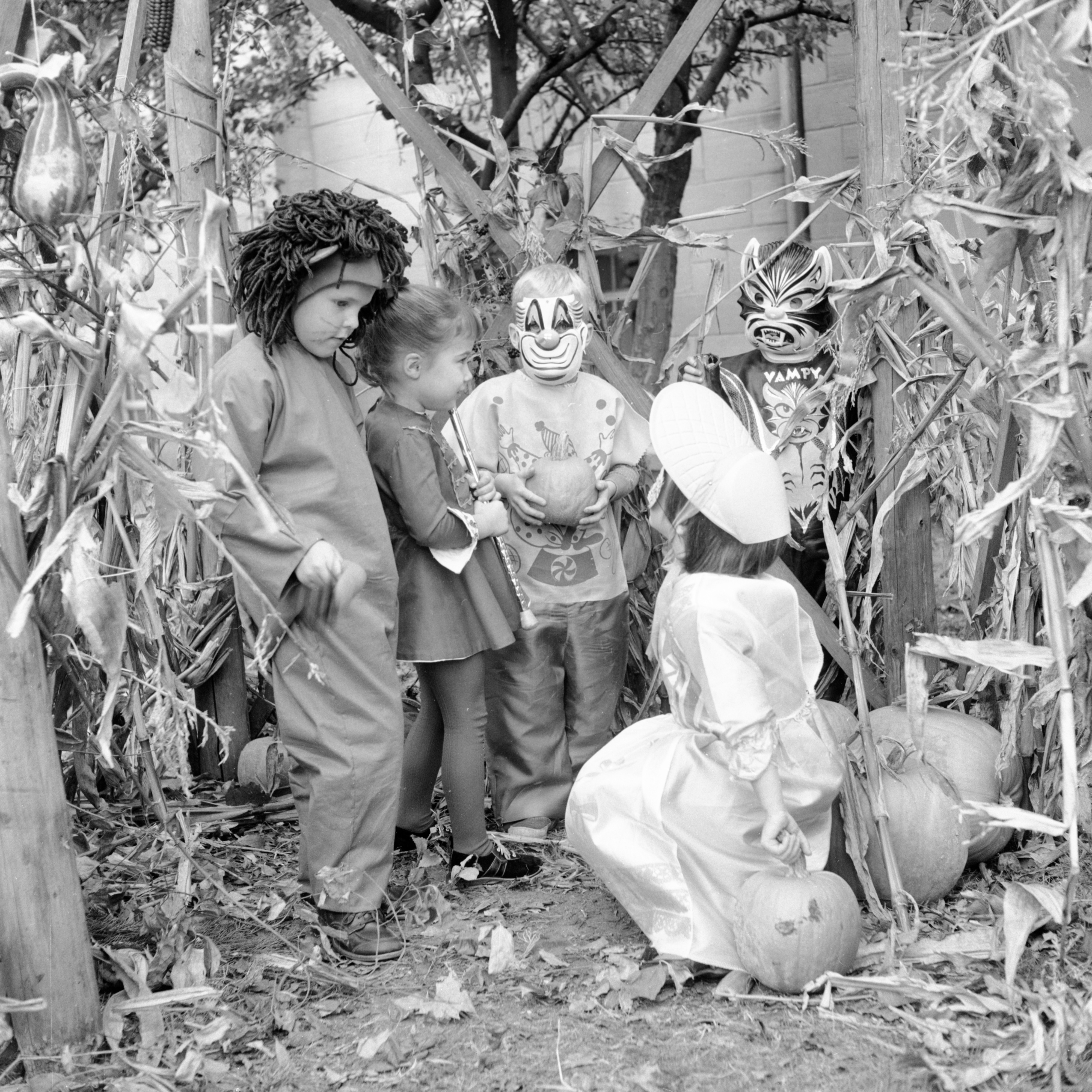 Halloween Can Be Harrowing For Goblins Without Goodies, October 1962 image