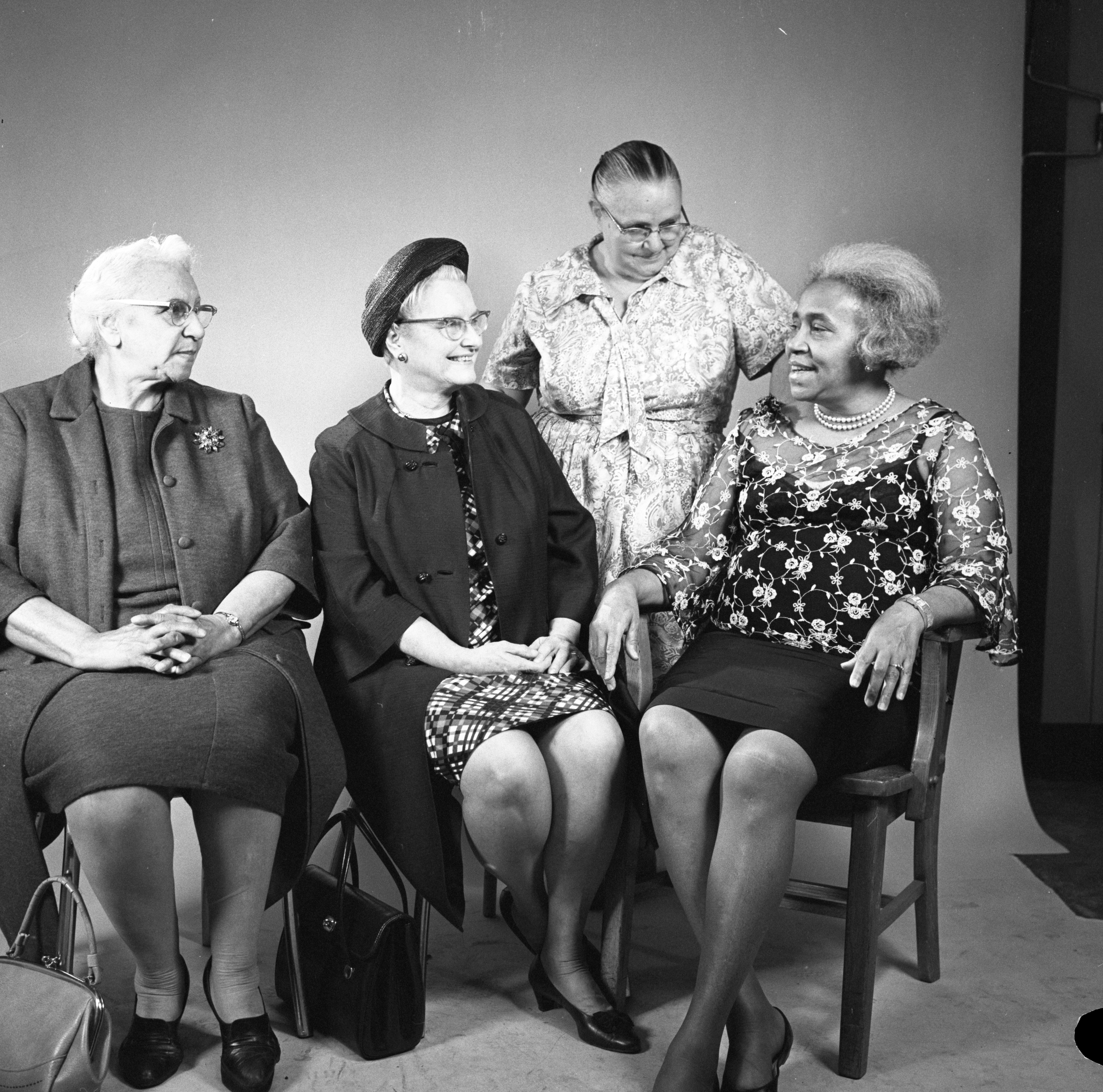 Grandmothers Discuss Motherhood For Mother's Day, May 1971 image