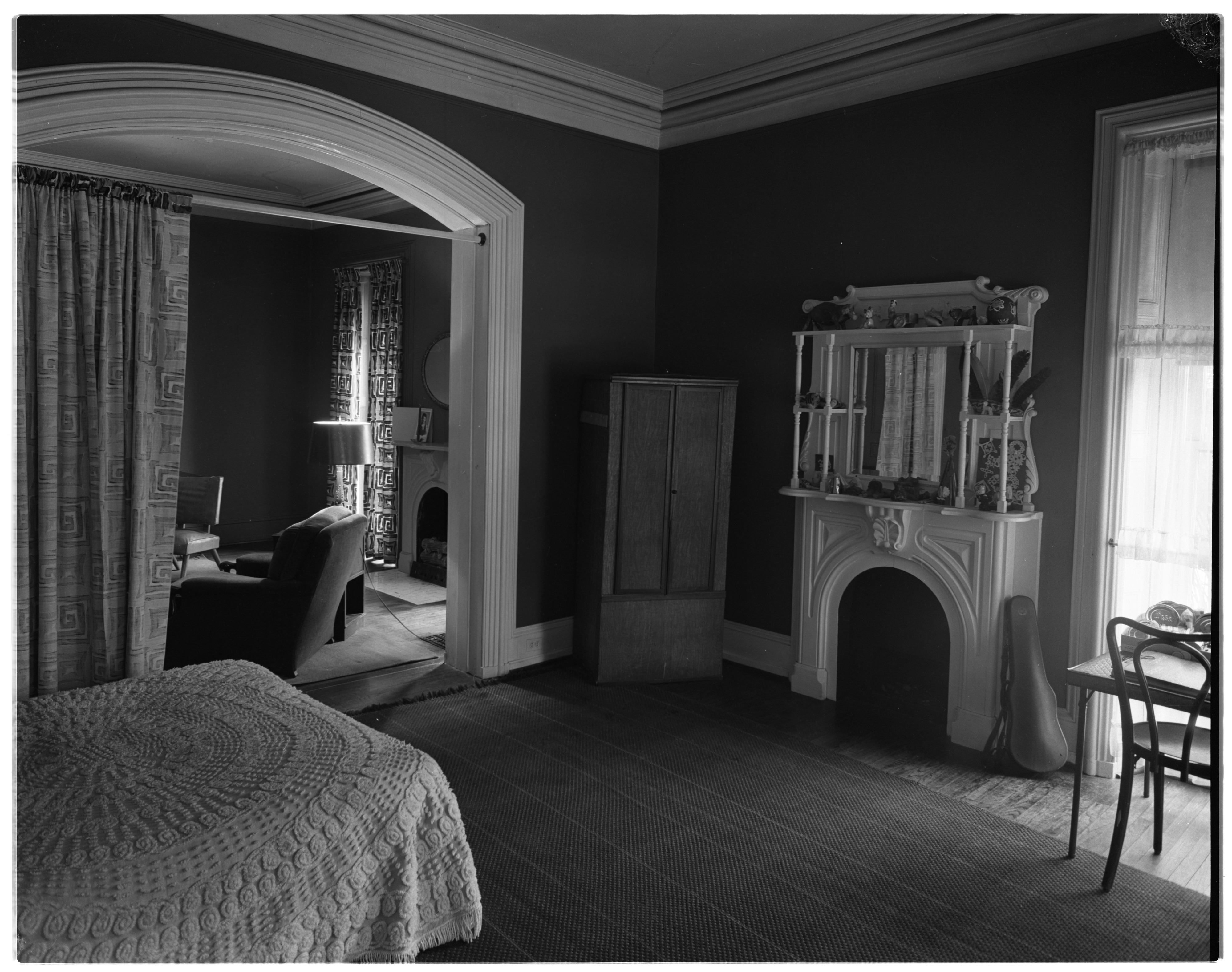 Beal Home, Interior Detail, February 1956 image