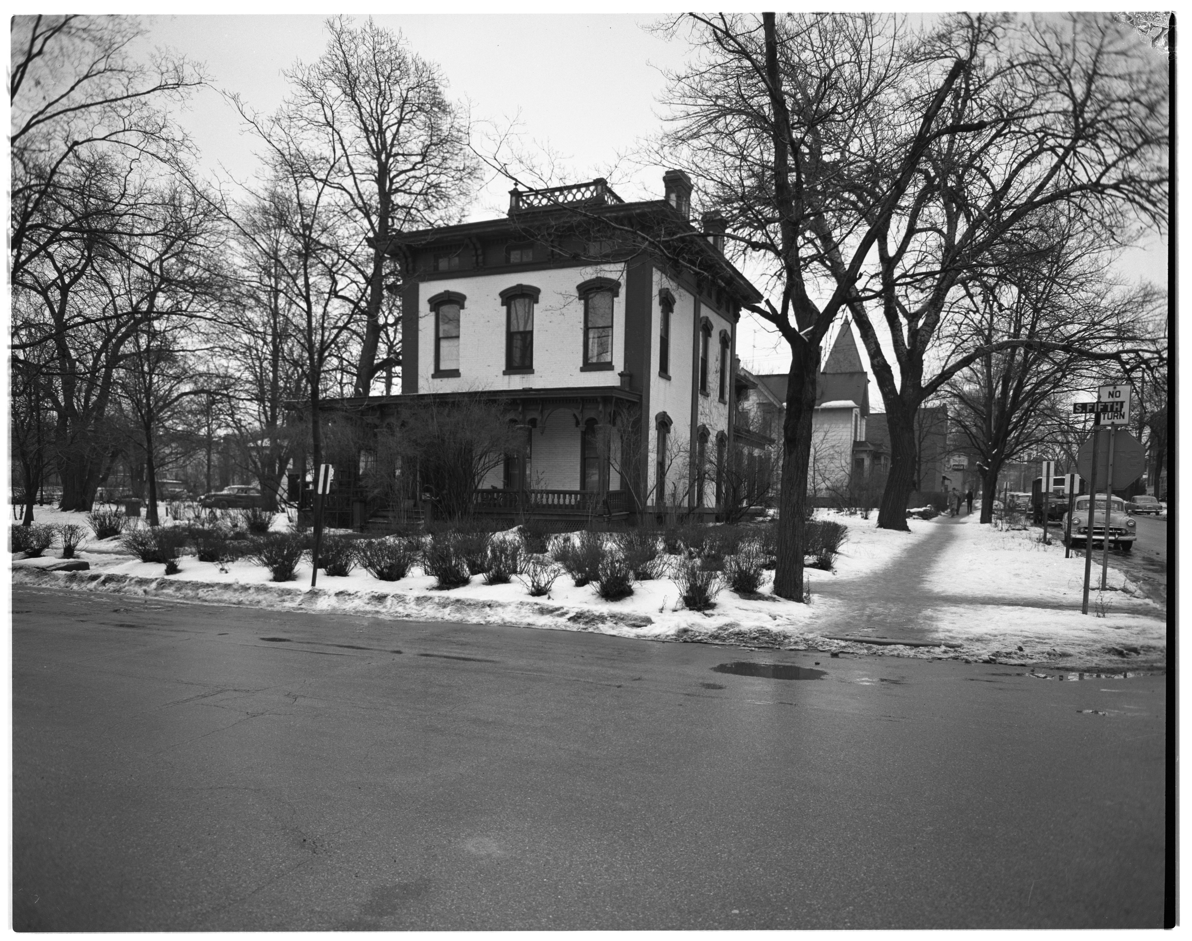 Beal Home, Exterior, February 1956 image